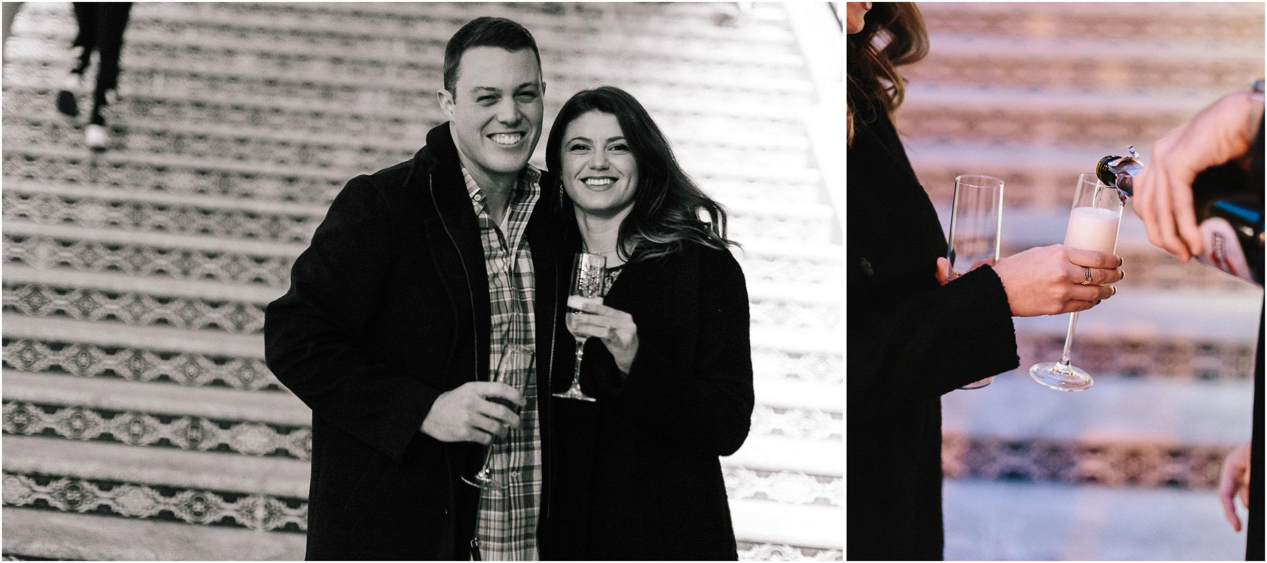 alyssa barletter photography christmas winter wedding proposal plaza lights plaza stairs she said yes-6.jpg