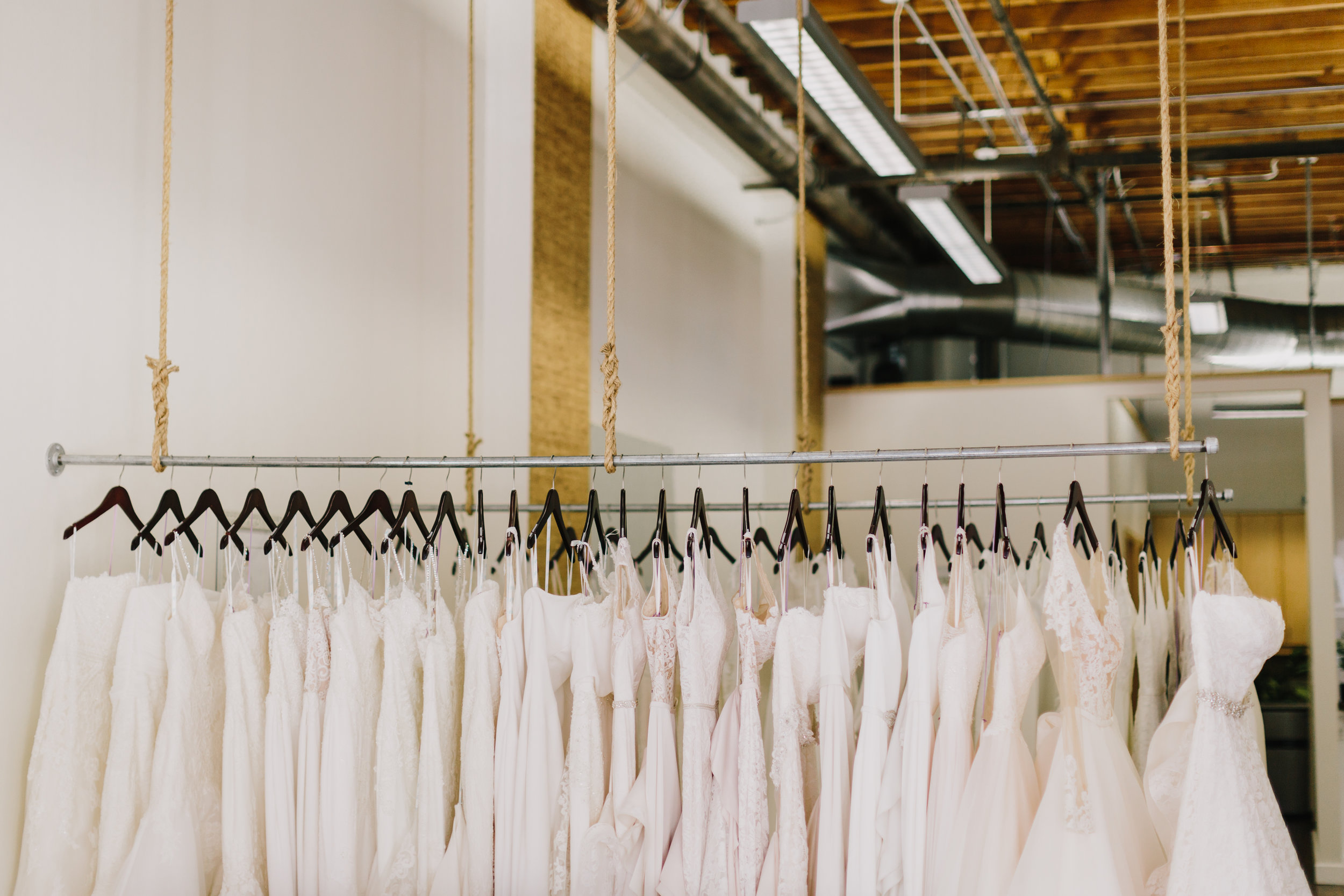 Something White Bridal Boutique In Downtown Kansas City Alyssa Barletter Photography
