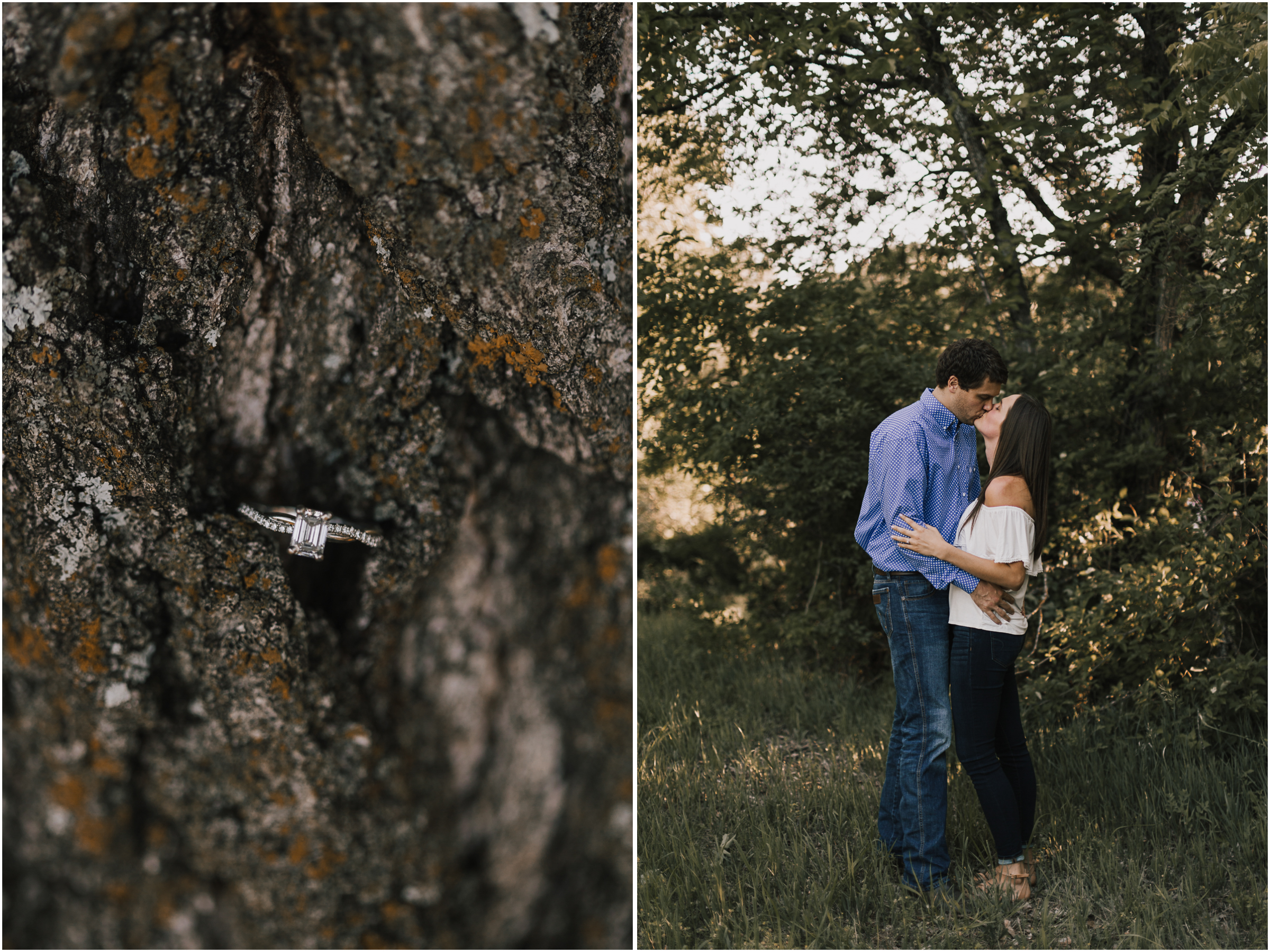 alyssa barletter photography shawnee mission park summer rustic done right engagement session-12.jpg