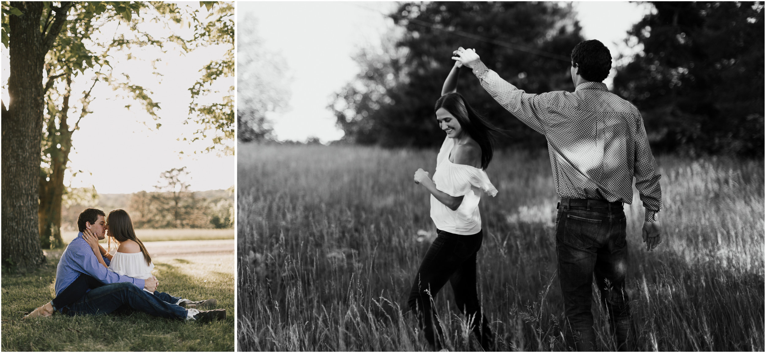 alyssa barletter photography shawnee mission park summer rustic done right engagement session-13.jpg
