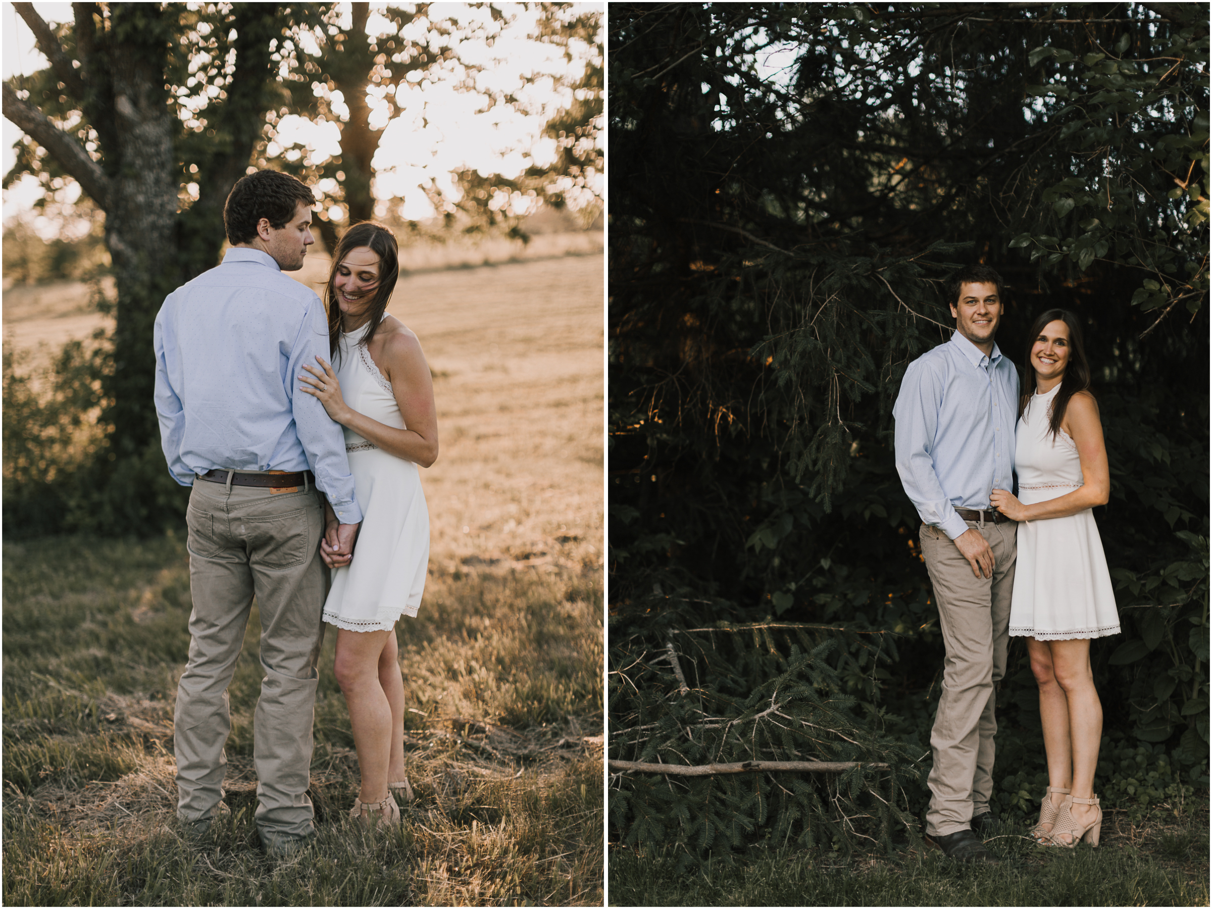 alyssa barletter photography shawnee mission park summer rustic done right engagement session-15.jpg