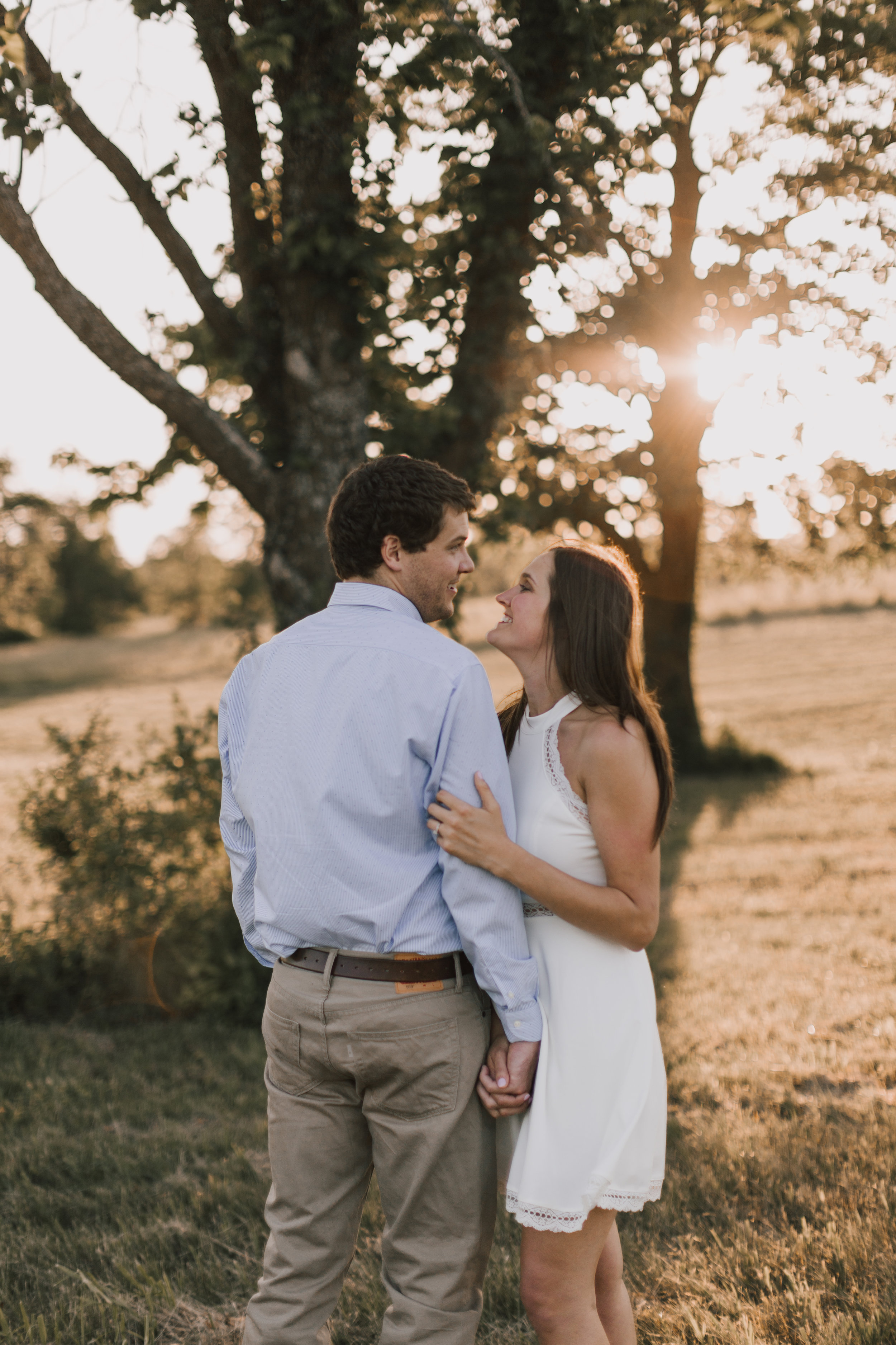 alyssa barletter photography shawnee mission park summer rustic done right engagement session-20.jpg