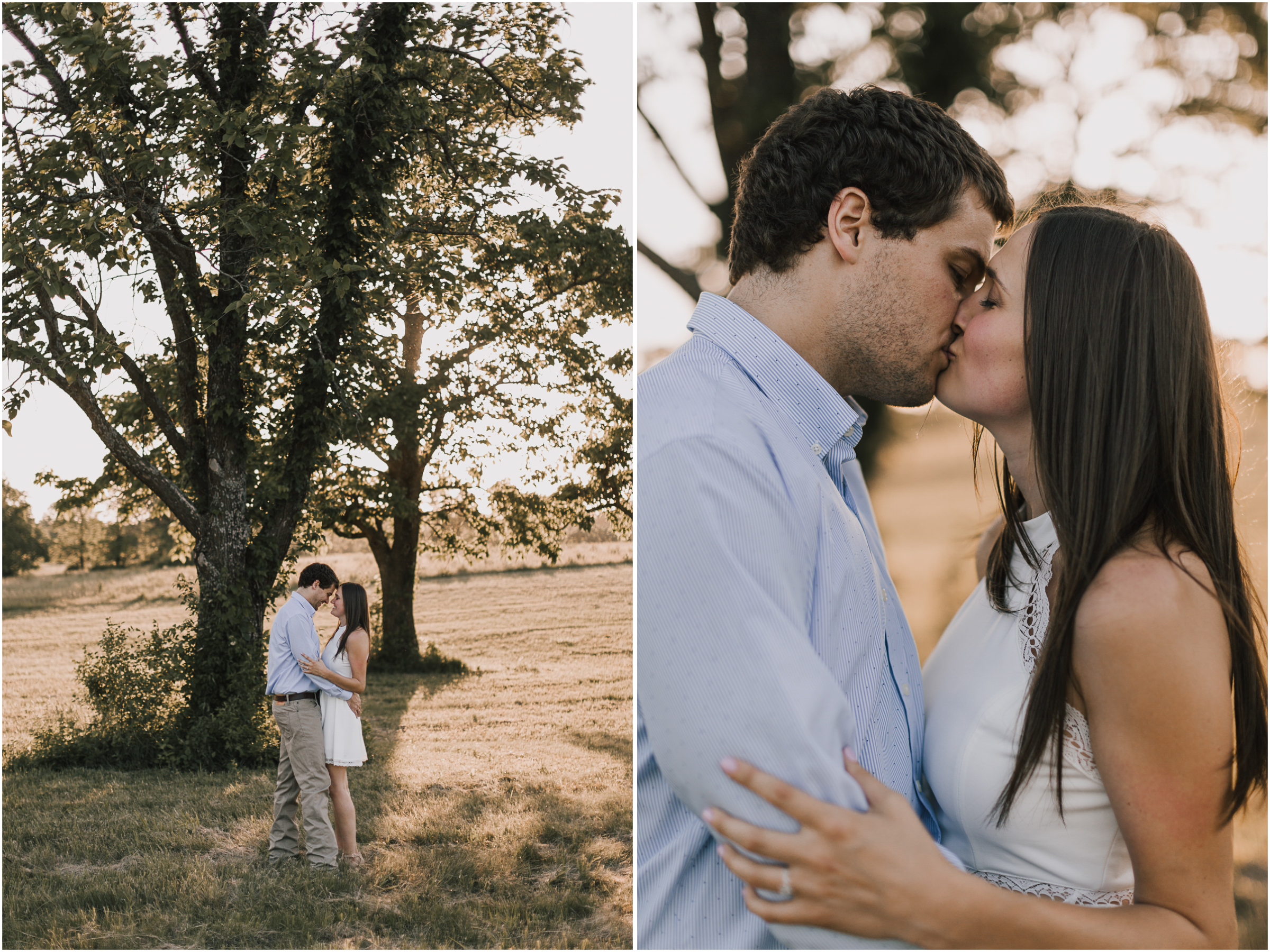 alyssa barletter photography shawnee mission park summer rustic done right engagement session-21.jpg