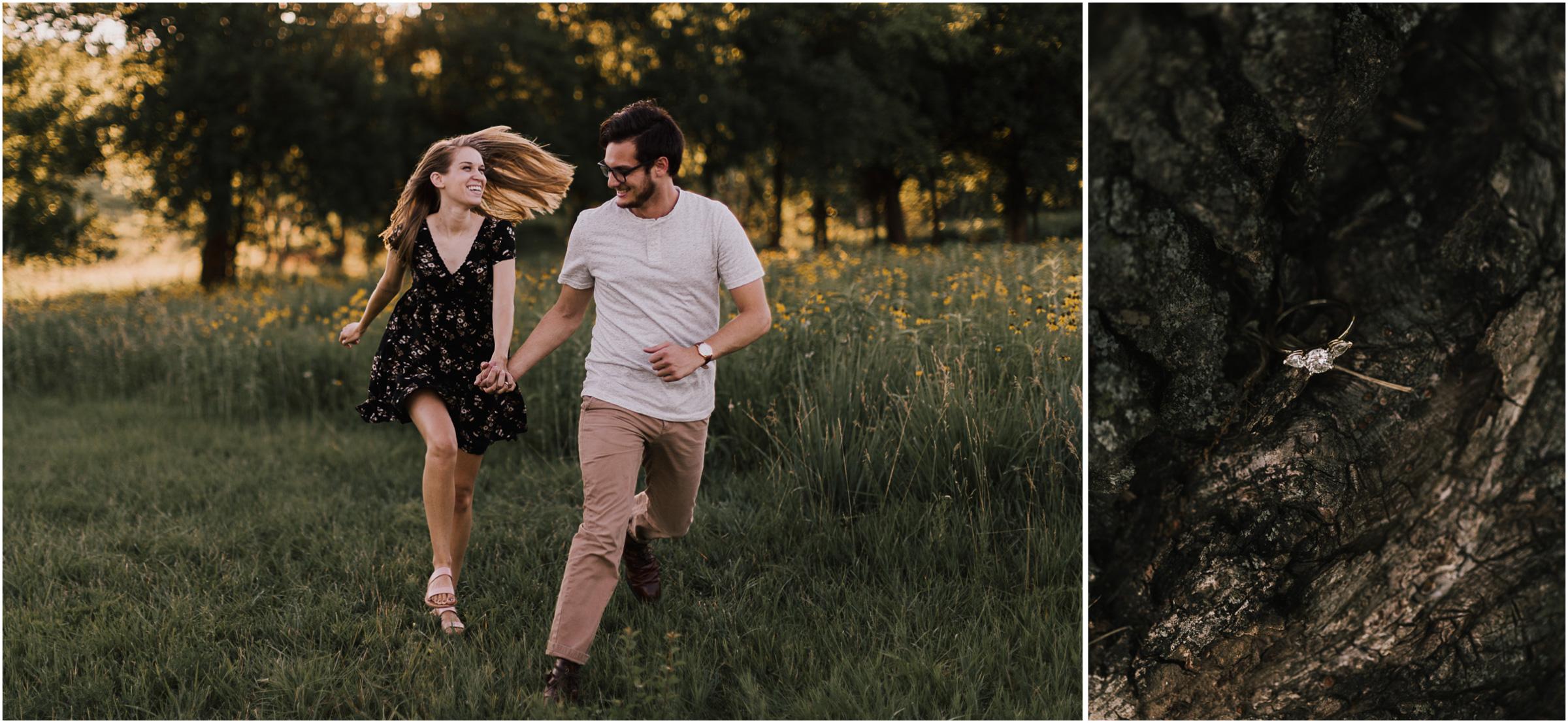 alyssa barletter photography shawnee mission park engagement session photographer summer flower fields-3.jpg