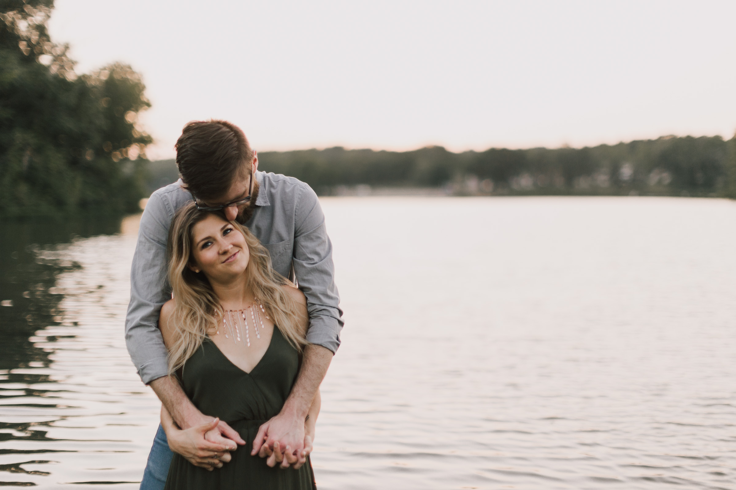 alyssa barletter photography shawnee mission park engagement session photographer summer flower fields-21.jpg