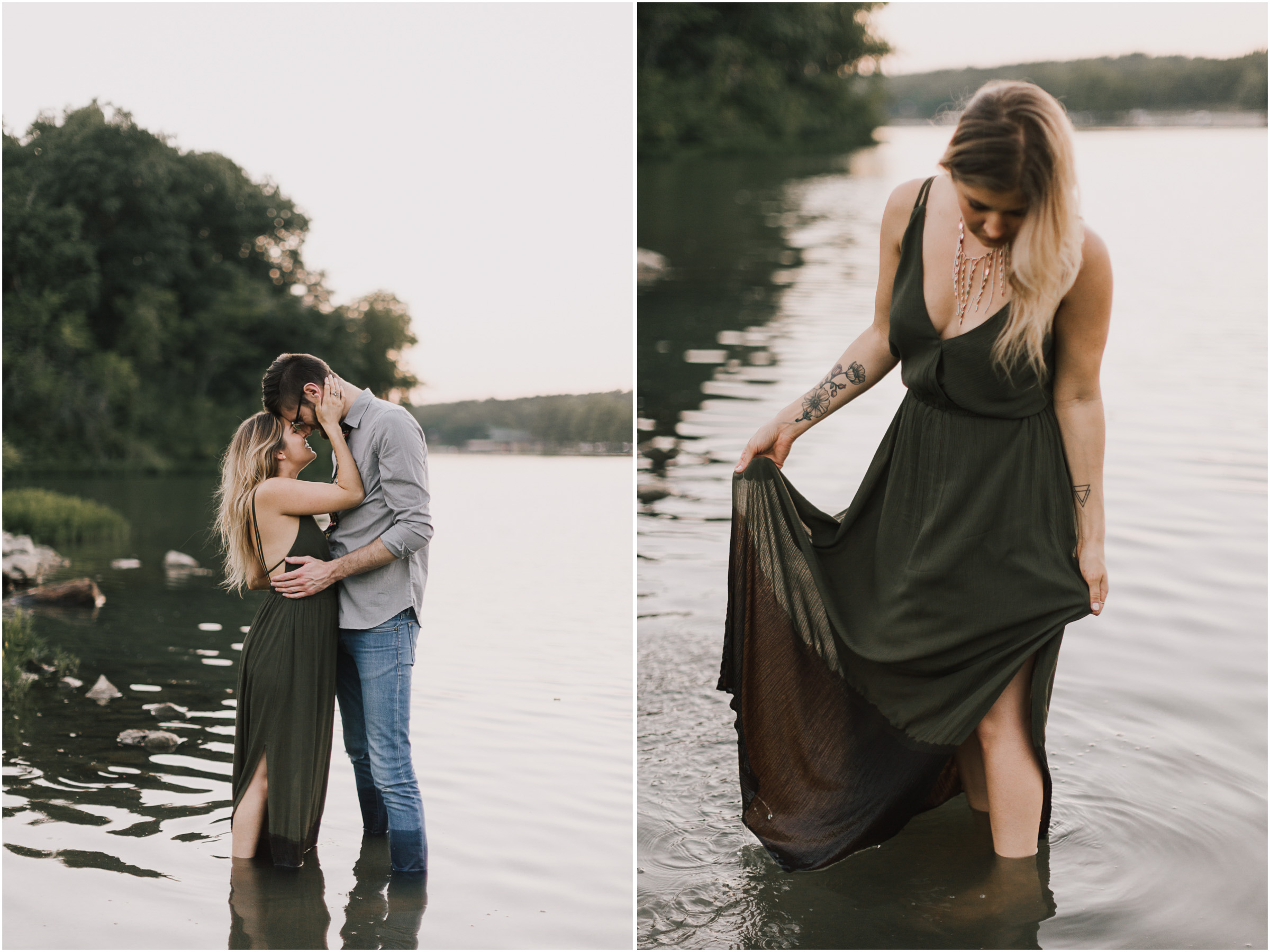 alyssa barletter photography shawnee mission park engagement session photographer summer flower fields-25.jpg