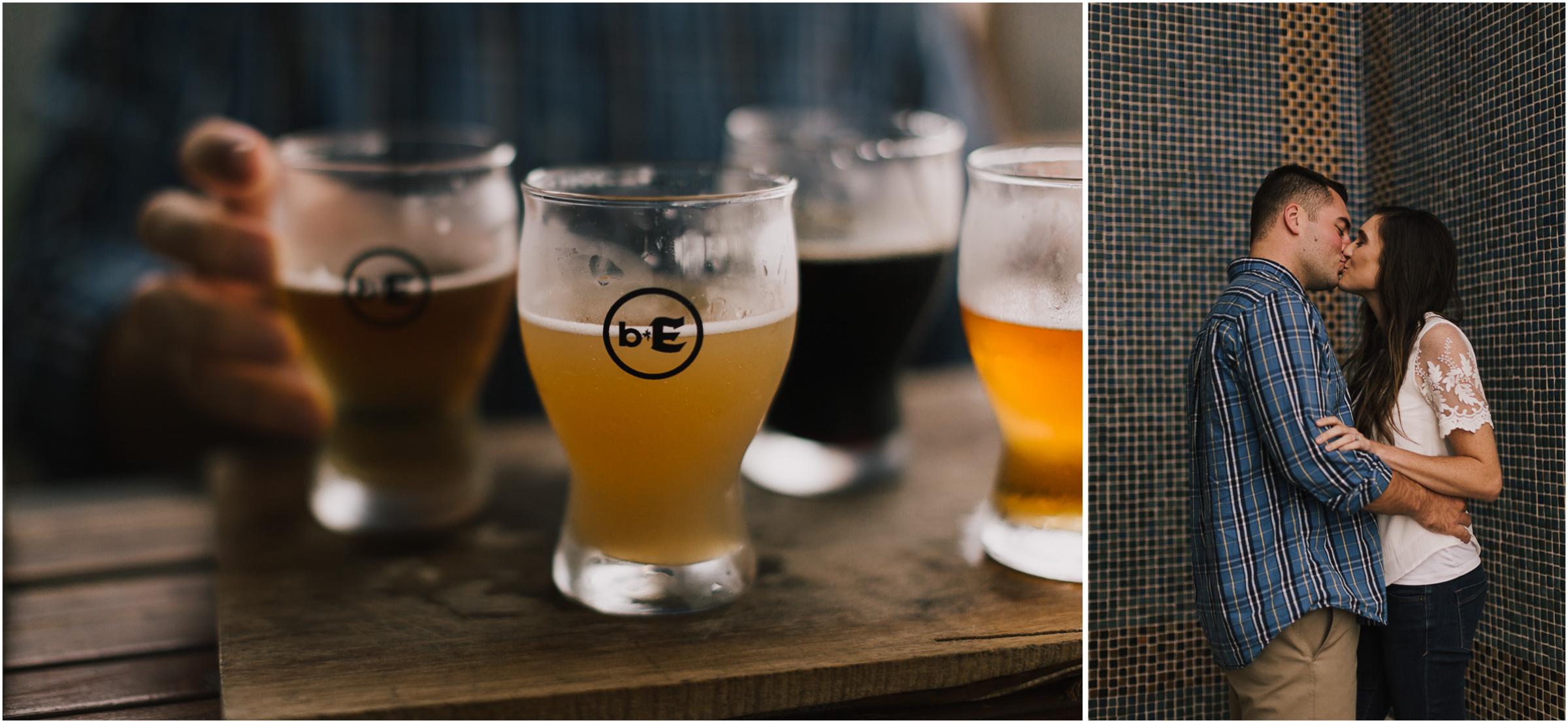 alyssa barletter photography emperial brewery engagement session downtown kansas city kc crossroads -15.jpg