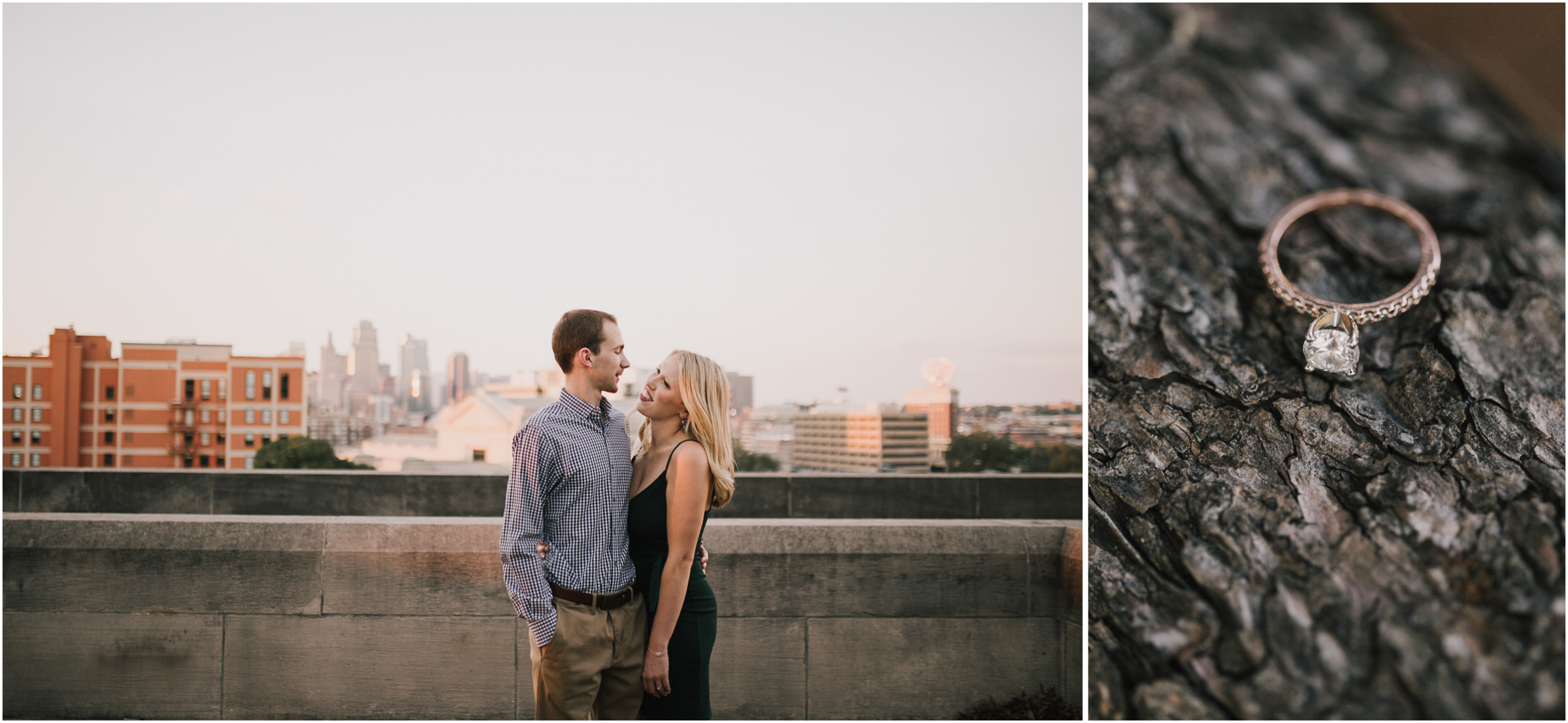 alyssa barletter photography nelson atkins art museum classic summer engagement session with dog-23.jpg