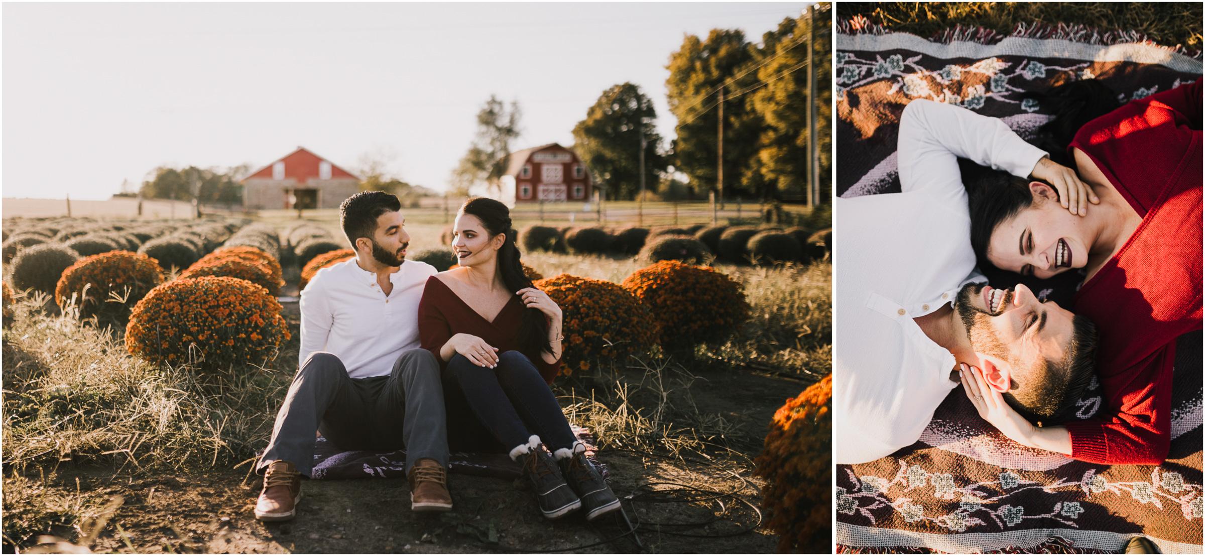 alyssa barletter photography fall pumpkin patch engagement photos sunset-3.jpg