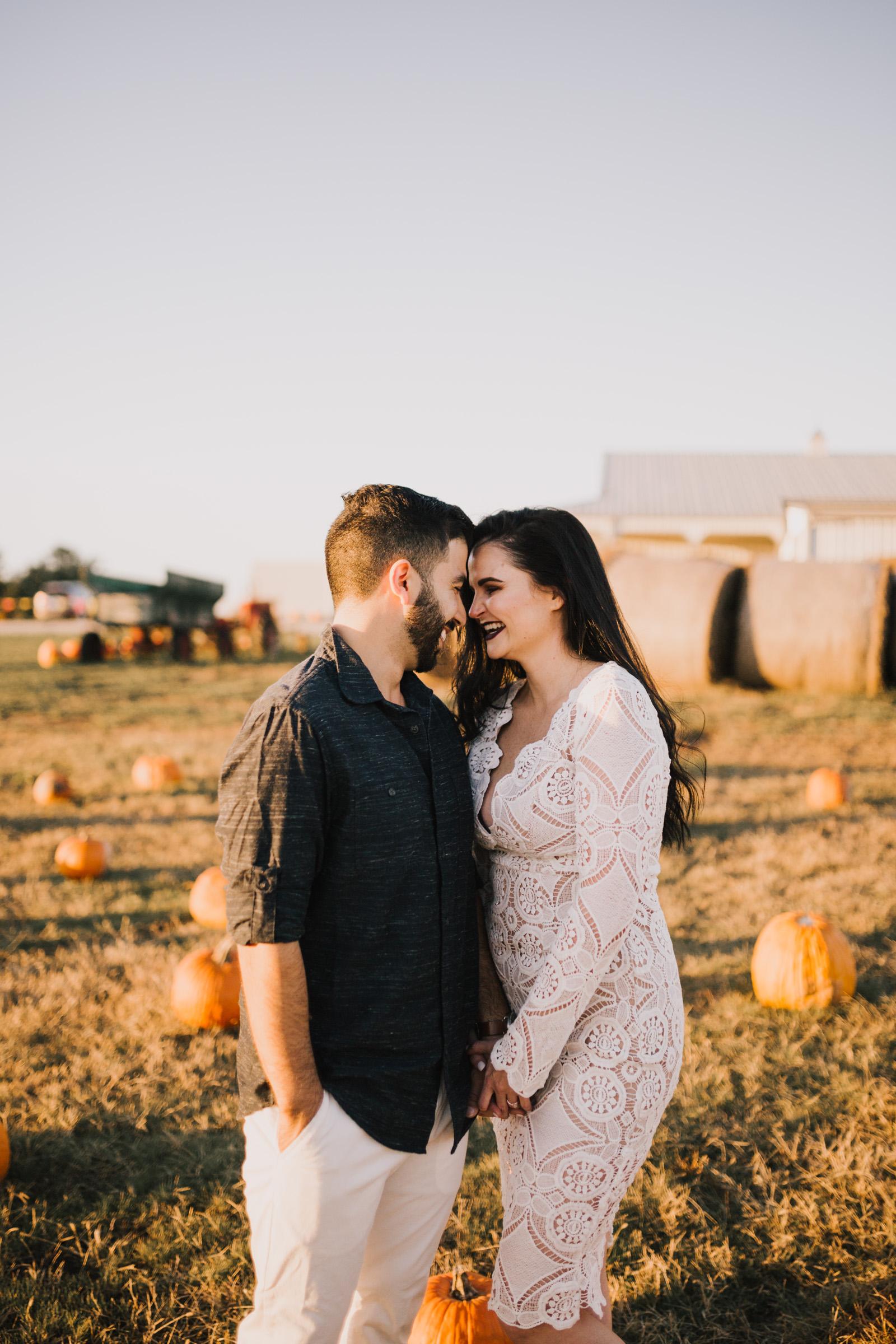 alyssa barletter photography fall pumpkin patch engagement photos sunset-14.jpg
