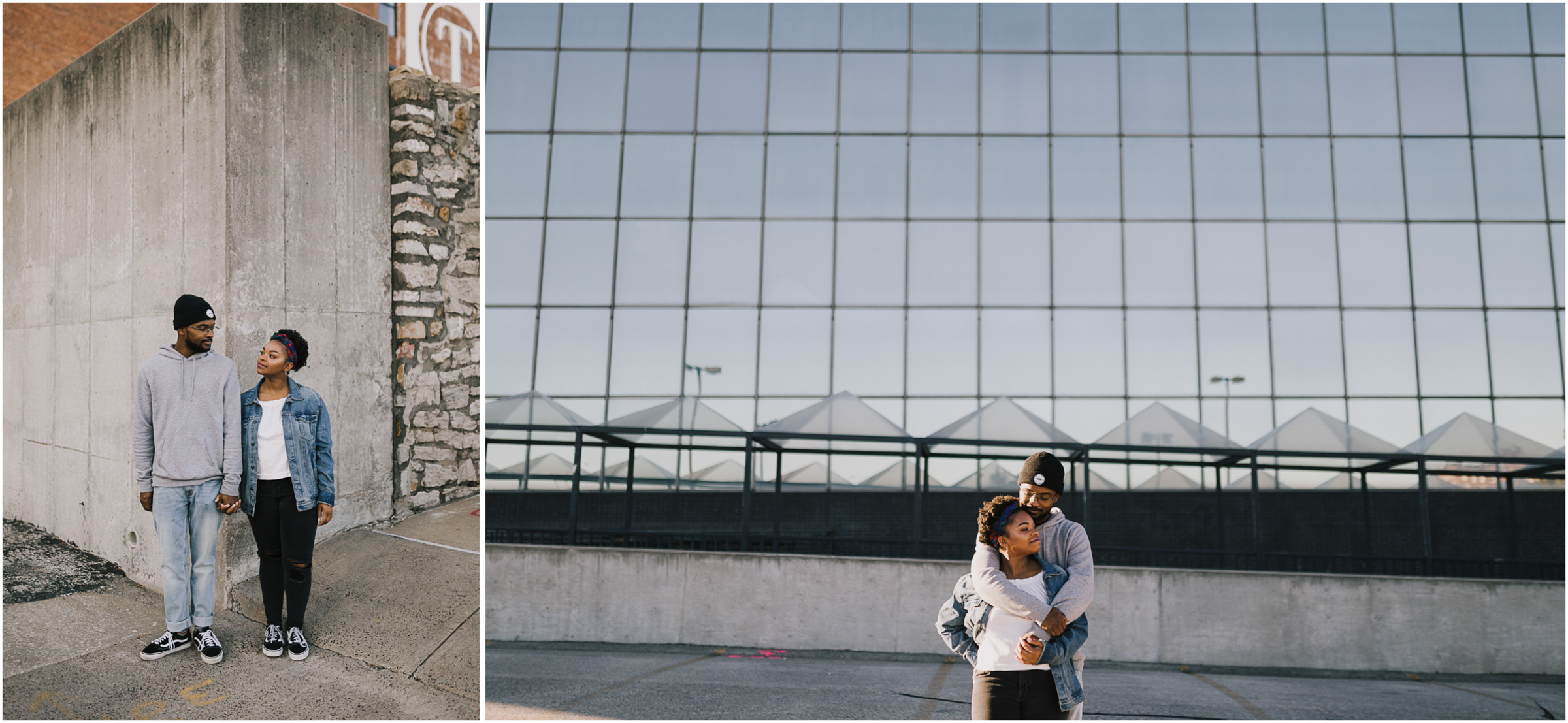 alyssa barletter photography downtown kansas city photo shoot rooftop parking garage sunrise session-14.jpg