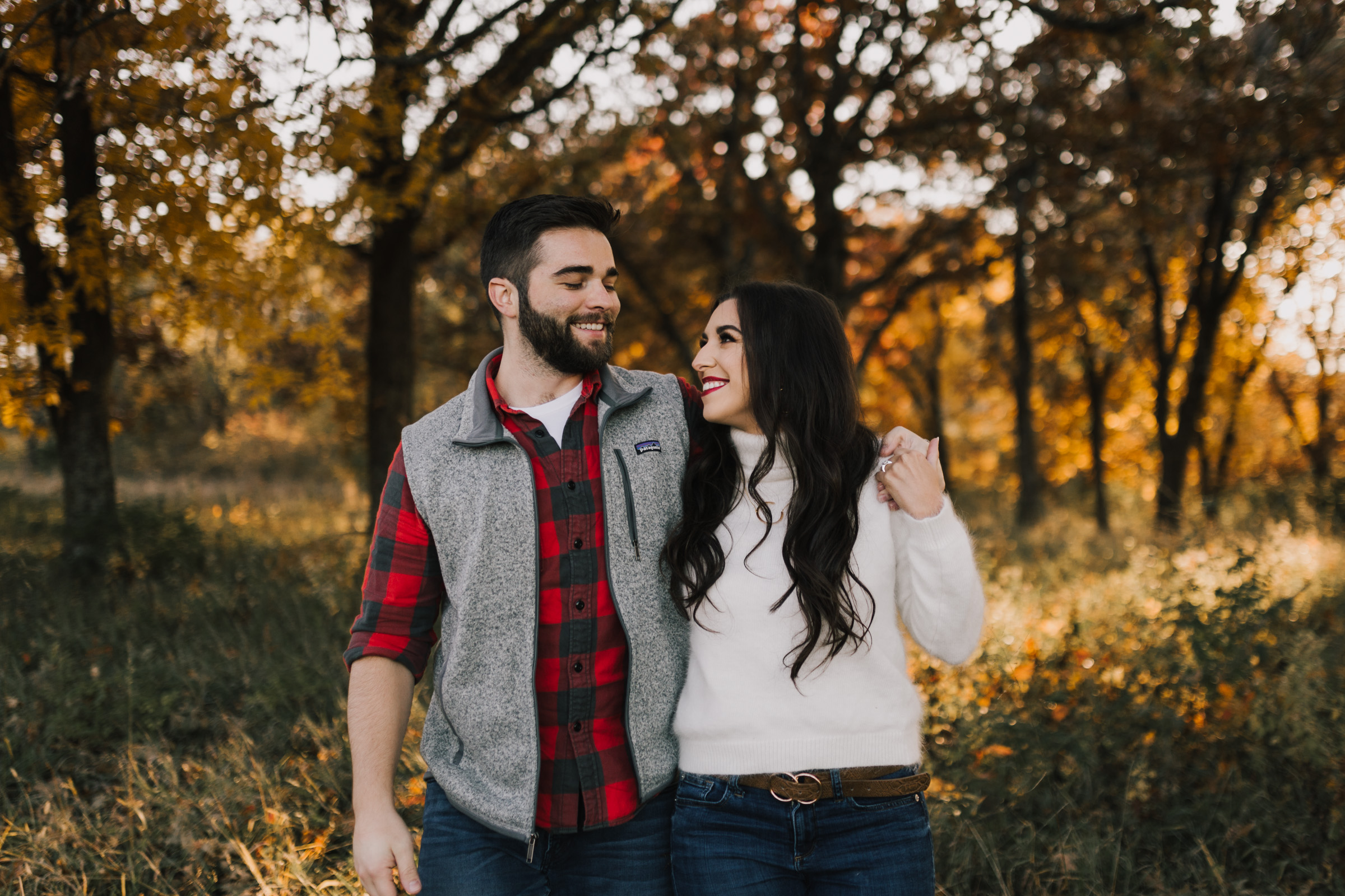 alyssa barletter photography shawnee mission park fall engagement photographer a girl her life blogger sunset photos-2.jpg