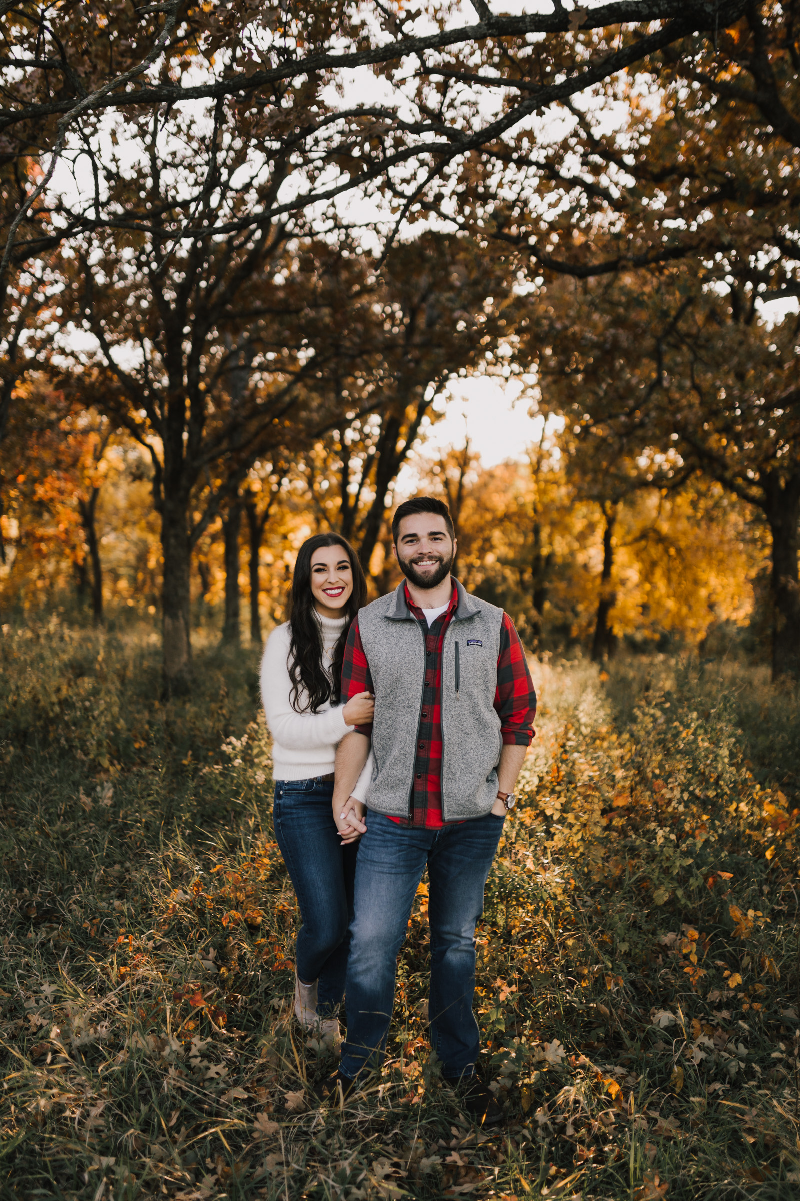alyssa barletter photography shawnee mission park fall engagement photographer a girl her life blogger sunset photos-1.jpg