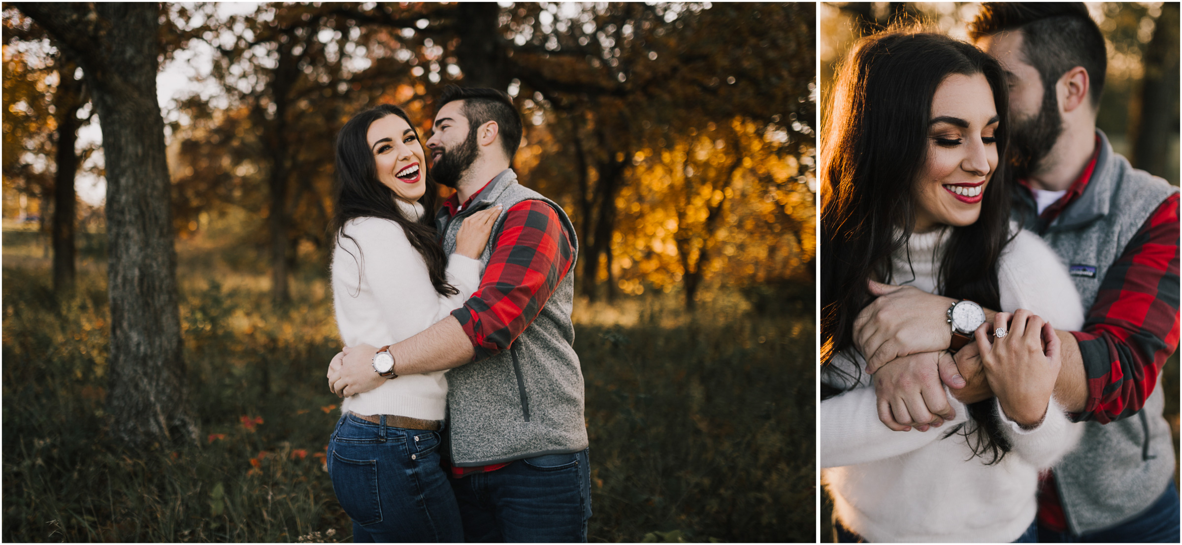 alyssa barletter photography shawnee mission park fall engagement photographer a girl her life blogger sunset photos-9.jpg