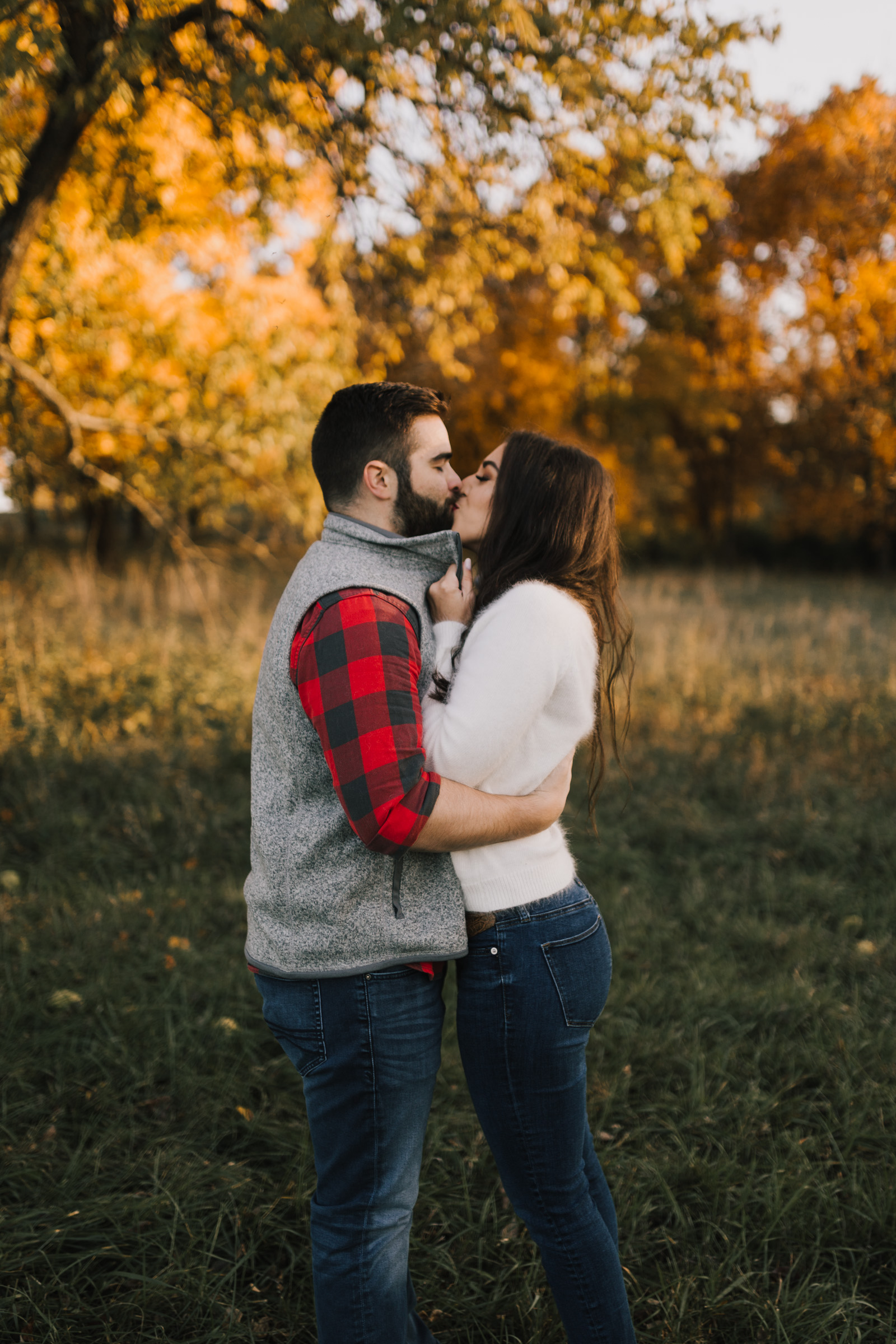 alyssa barletter photography shawnee mission park fall engagement photographer a girl her life blogger sunset photos-11.jpg