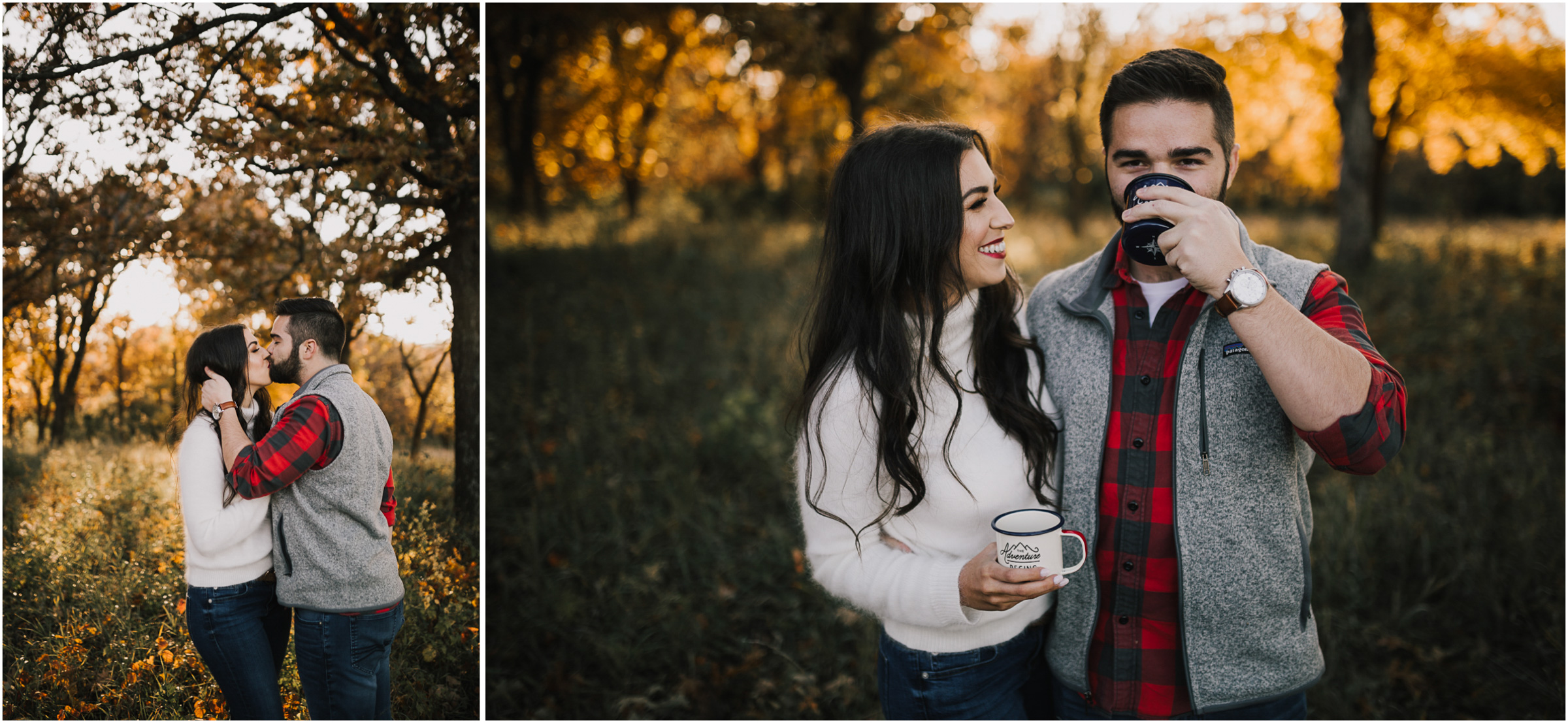 alyssa barletter photography shawnee mission park fall engagement photographer a girl her life blogger sunset photos-15.jpg