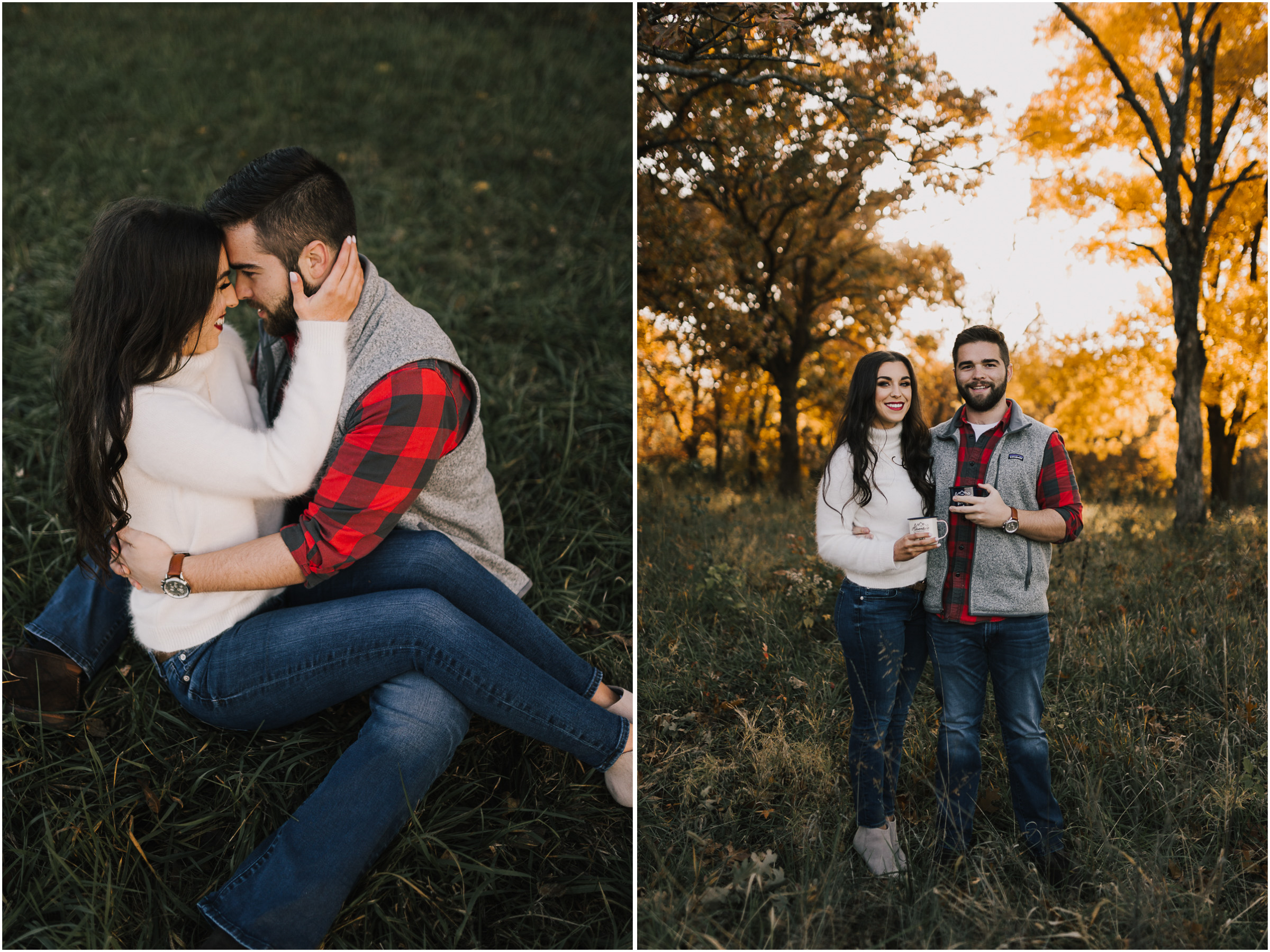 alyssa barletter photography shawnee mission park fall engagement photographer a girl her life blogger sunset photos-17.jpg