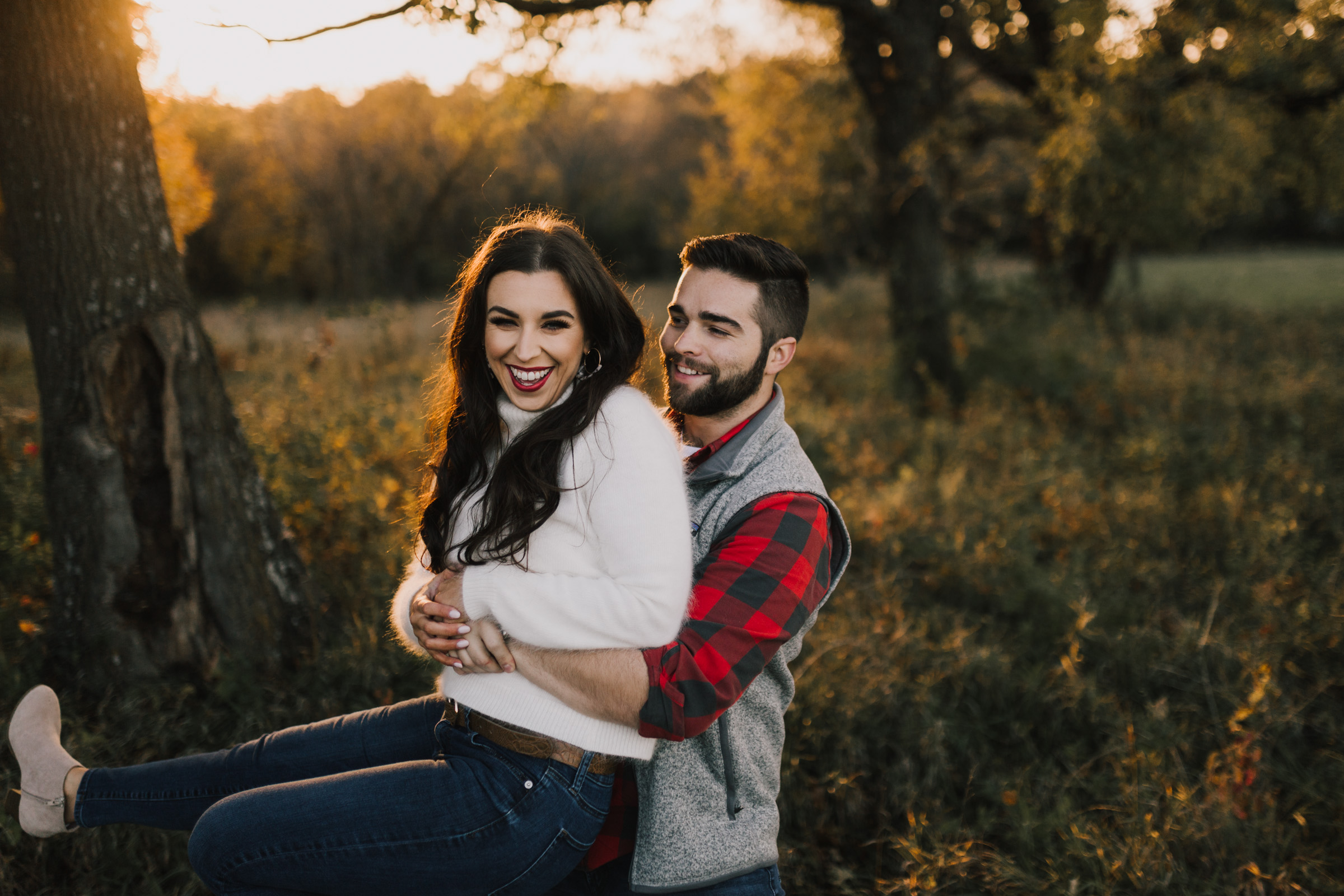 alyssa barletter photography shawnee mission park fall engagement photographer a girl her life blogger sunset photos-18.jpg
