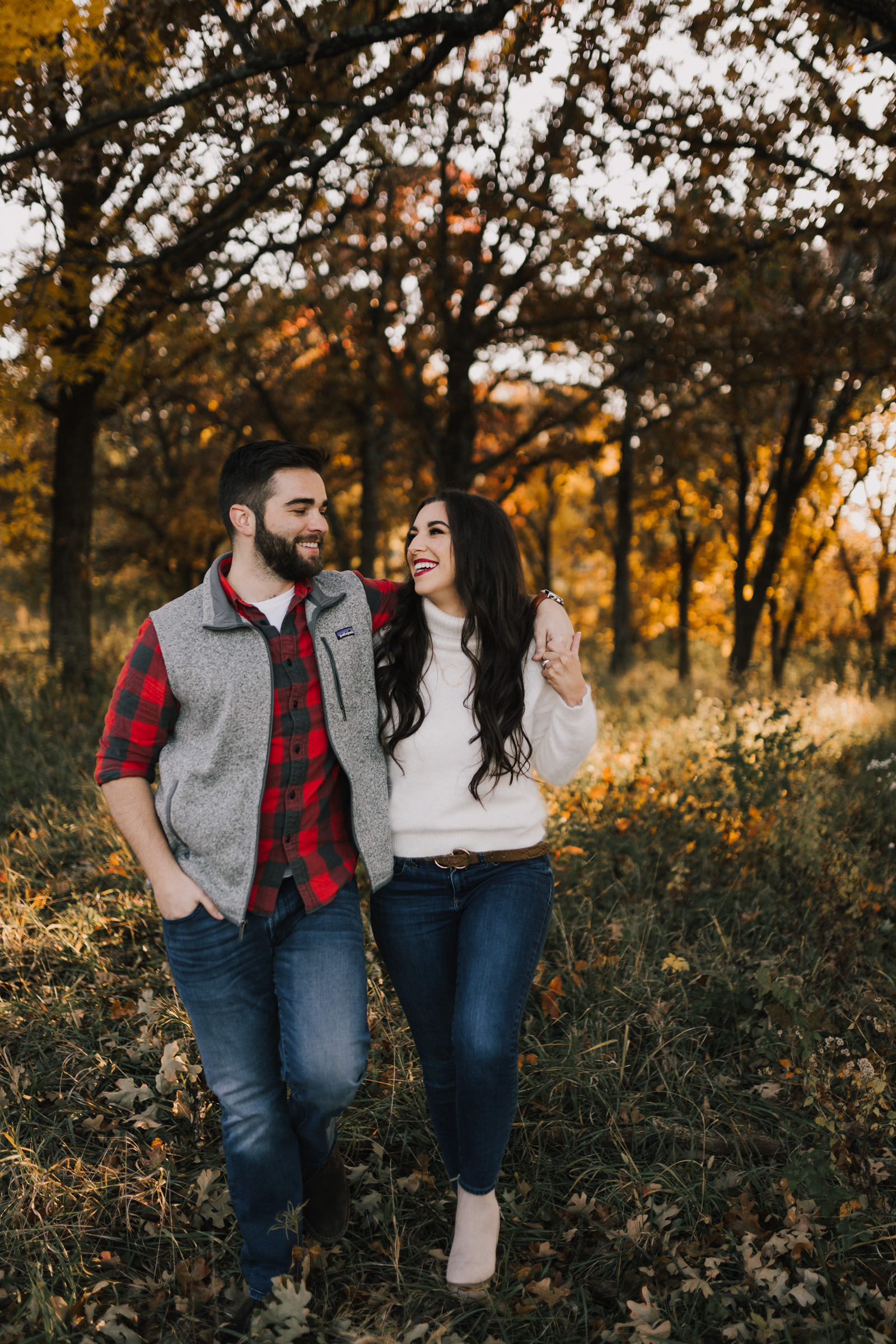 alyssa barletter photography shawnee mission park fall engagement photographer a girl her life blogger sunset photos-19.jpg