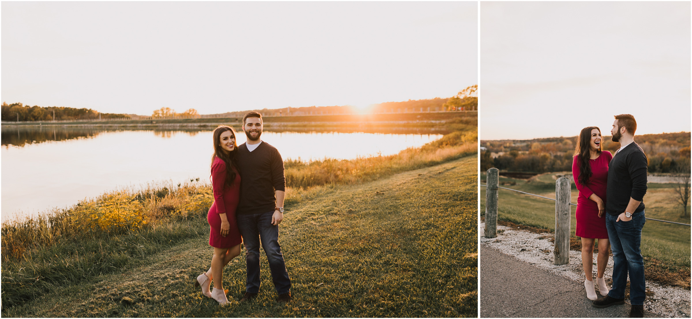 alyssa barletter photography shawnee mission park fall engagement photographer a girl her life blogger sunset photos-26.jpg