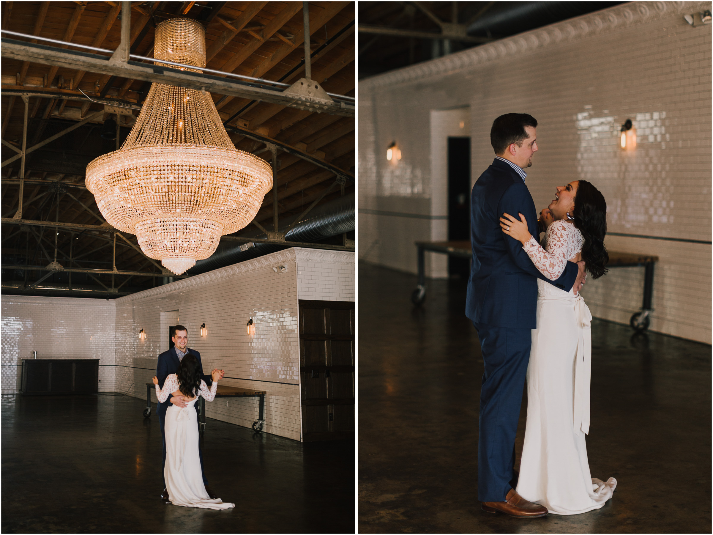 alyssa barletter photography emotional anniversary surprise first dance the guild kansas city crossroads wedding venue-7.jpg
