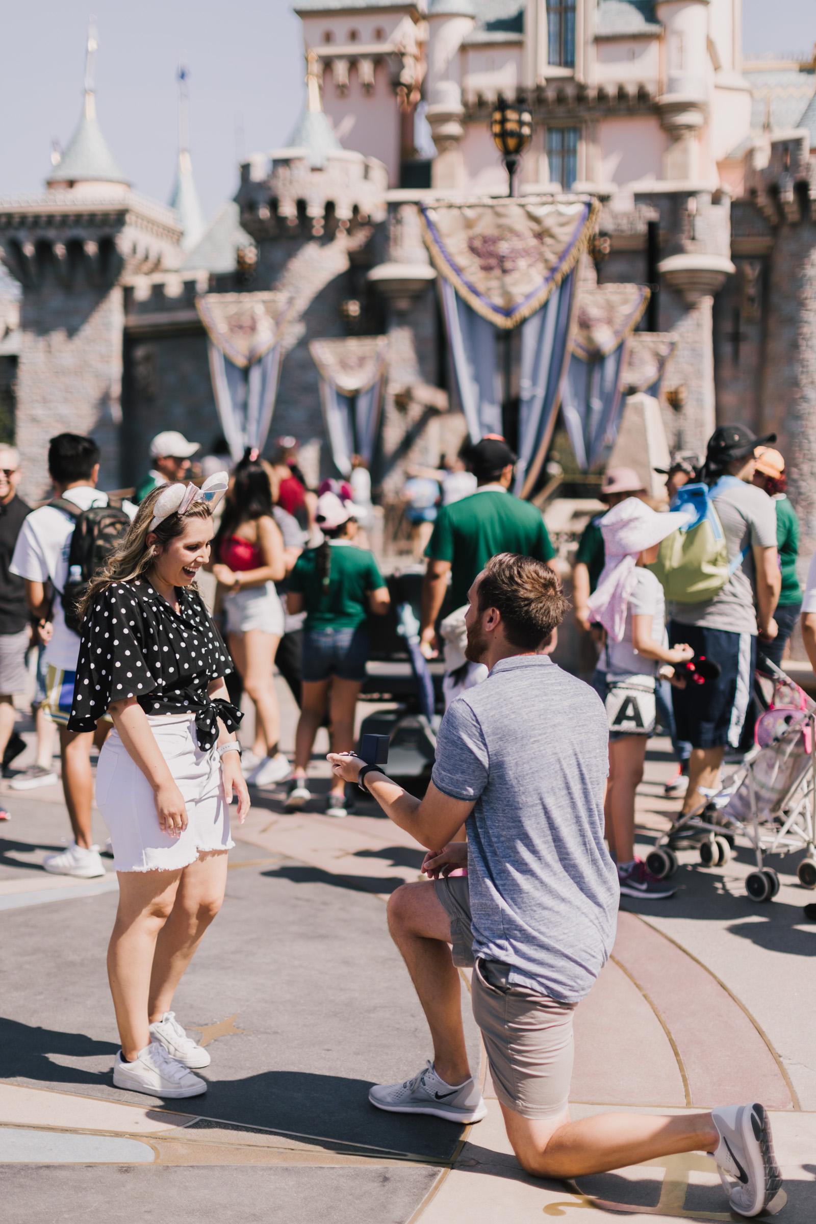 alyssa barletter photography disneyland california surprise proposal photographer cinderella castle-3.jpg