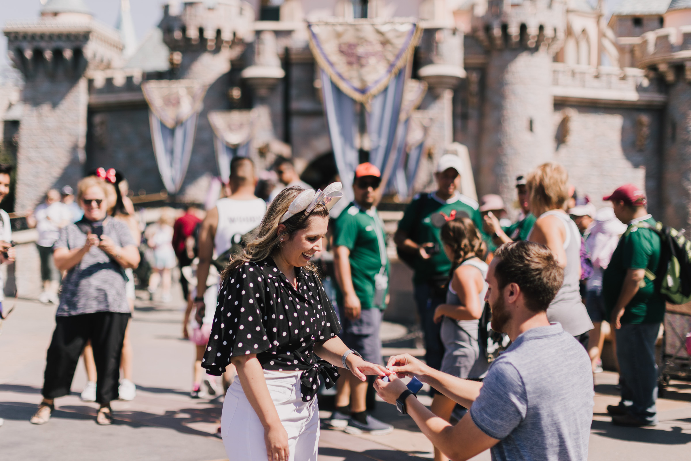 alyssa barletter photography disneyland california surprise proposal photographer cinderella castle-5.jpg