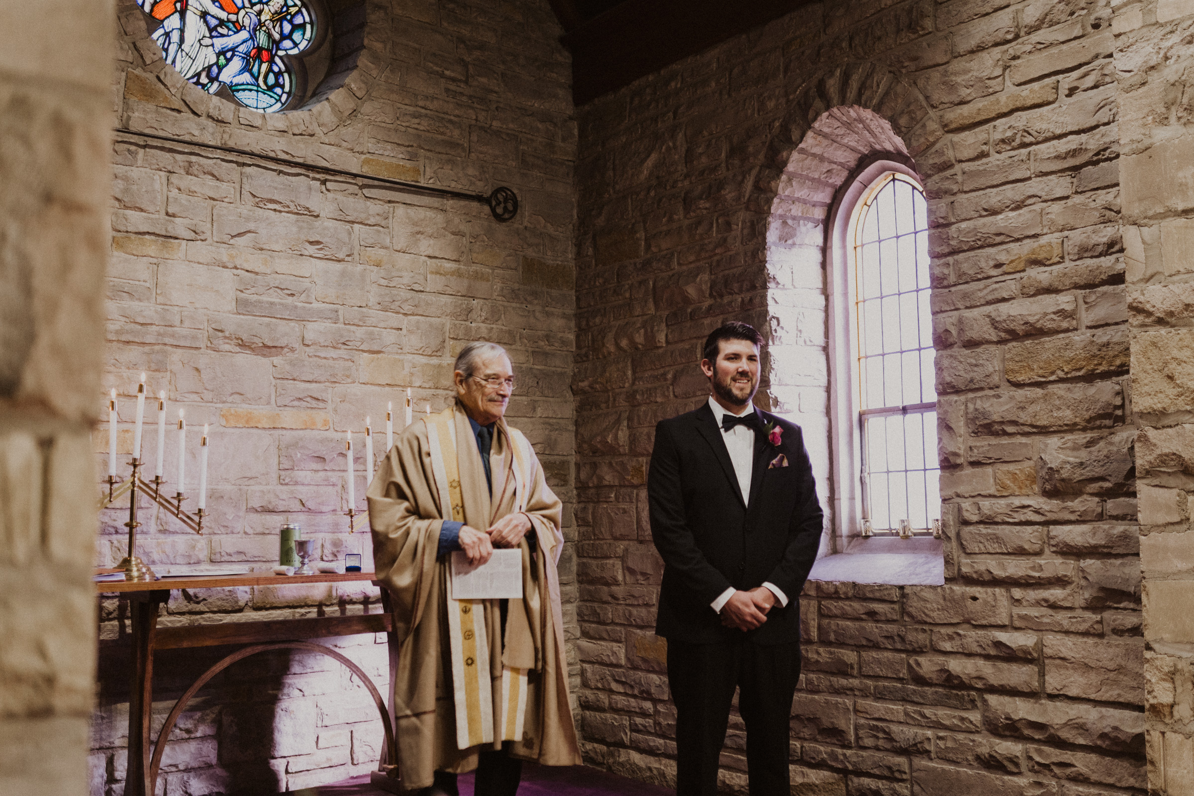 alyssa barletter photography nelson atkins museum intimate romantic spring wedding pilgrim chapel kcmo-7.jpg