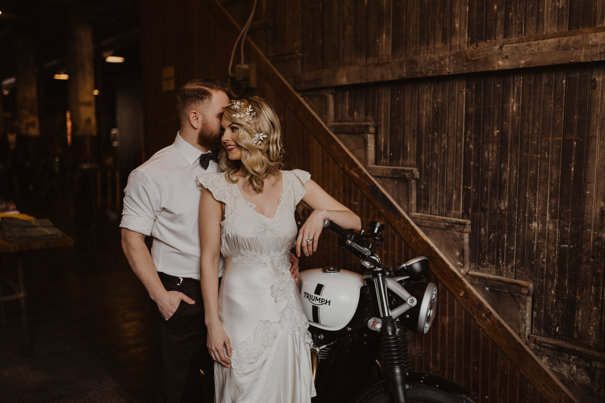 alyssa barletter photography styled shoot wedding inspiration kansas city west bottoms photographer motorcycle edgy intimate-16.jpg