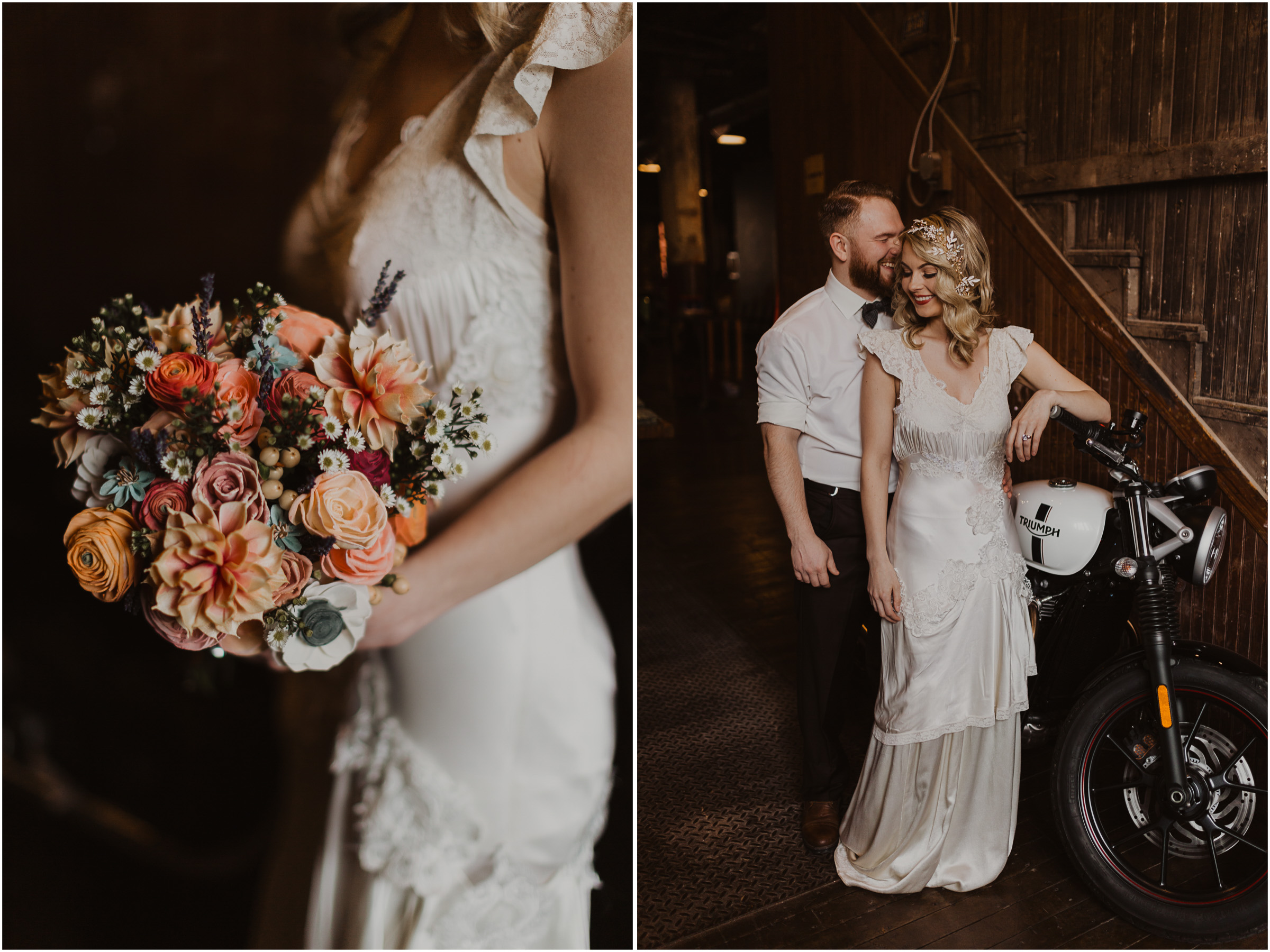 alyssa barletter photography styled shoot wedding inspiration kansas city west bottoms photographer motorcycle edgy intimate-19.jpg