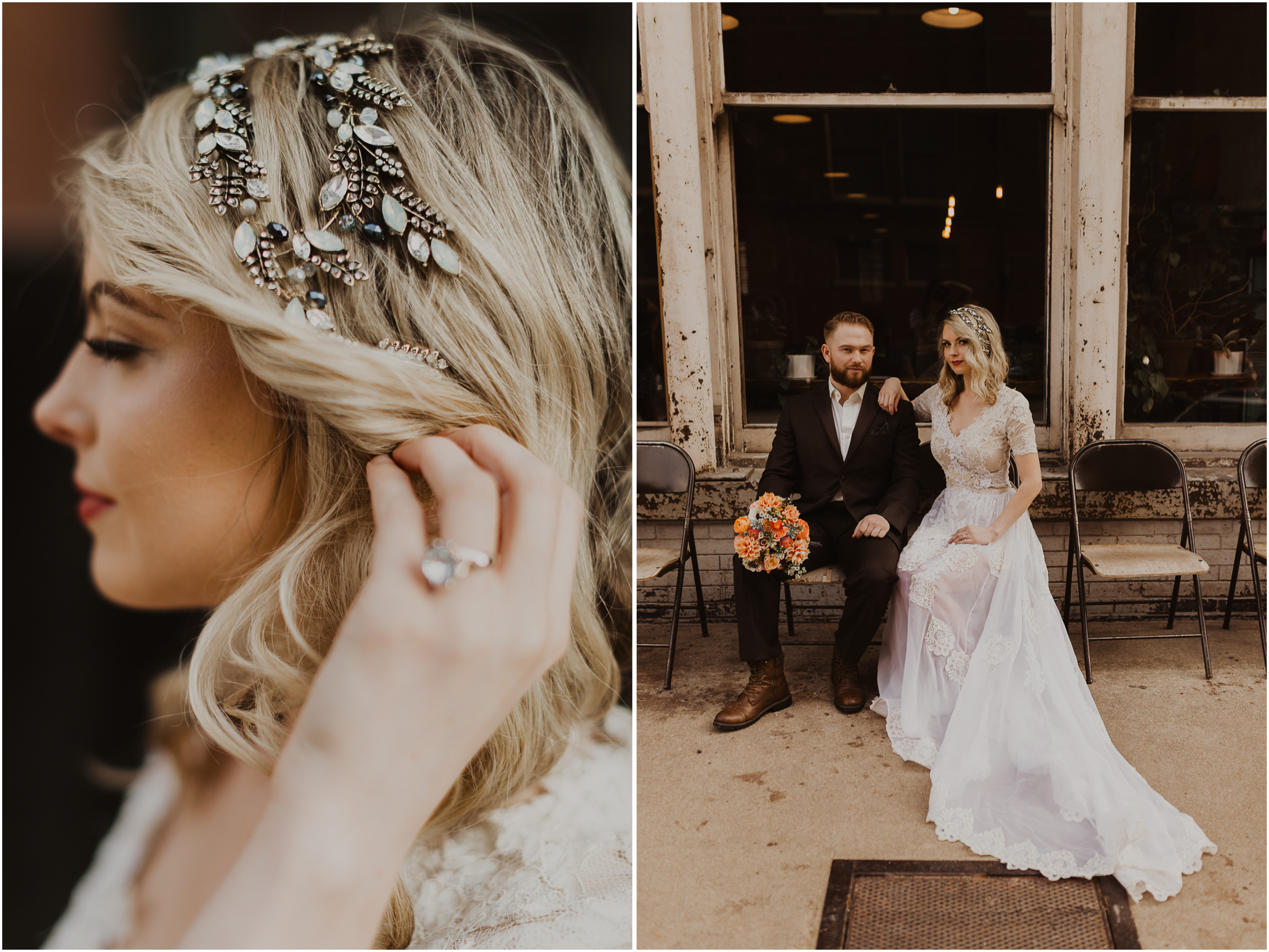 alyssa barletter photography styled shoot wedding inspiration kansas city west bottoms photographer motorcycle edgy intimate-22.jpg