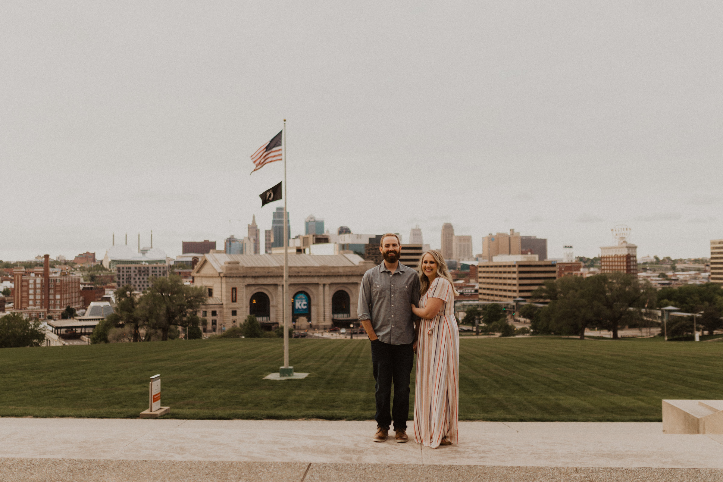 alyssa barletter photography kansas city liberty memorial loose park engagement session photographer-14.jpg