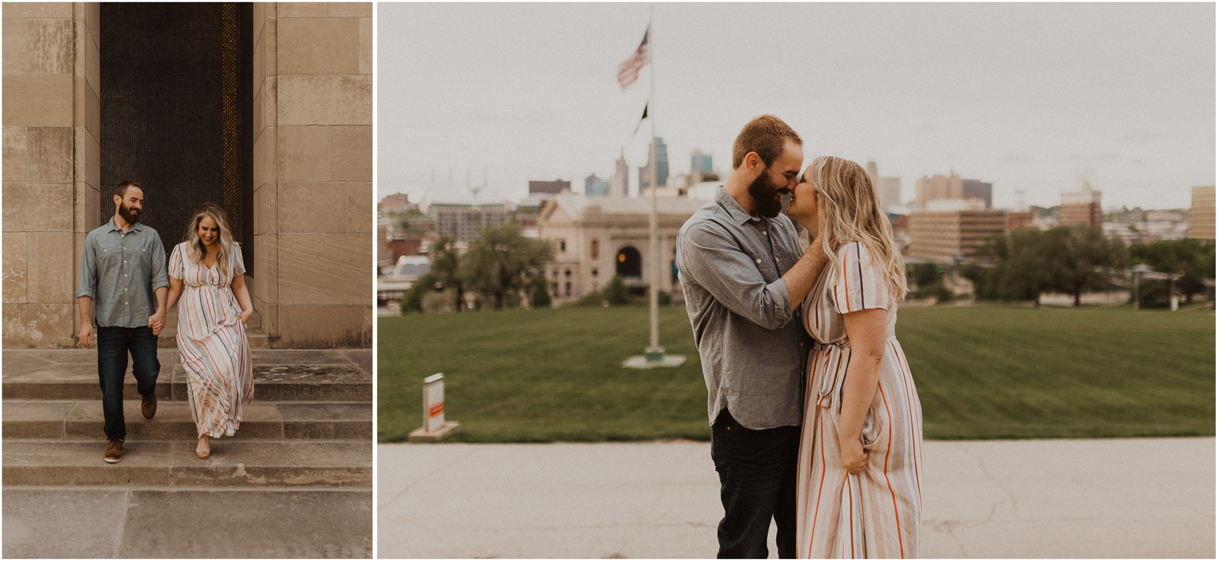 alyssa barletter photography kansas city liberty memorial loose park engagement session photographer-15.jpg