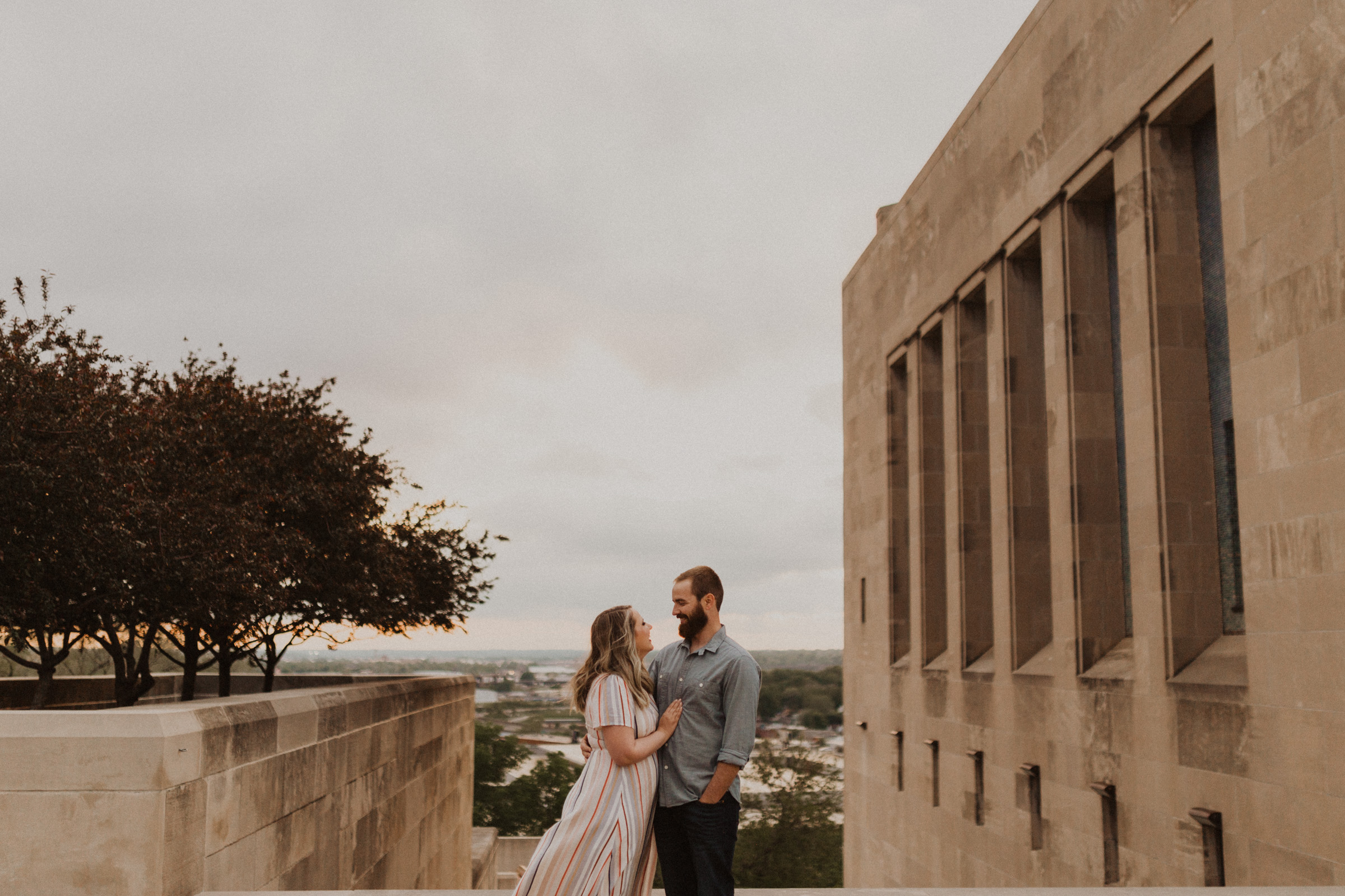alyssa barletter photography kansas city liberty memorial loose park engagement session photographer-19.jpg
