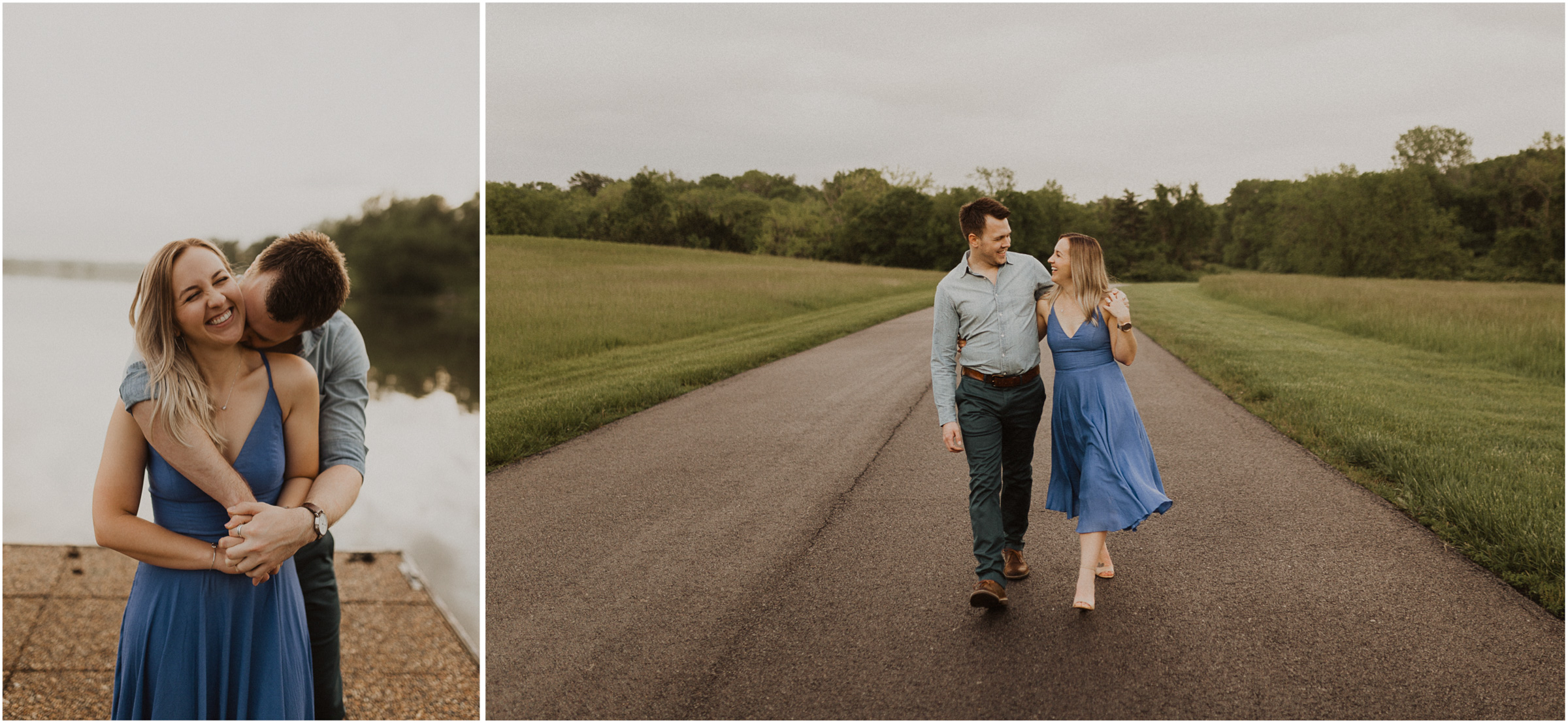 alyssa barletter photography shawnee mission park engagement session photographer sunset-16.jpg