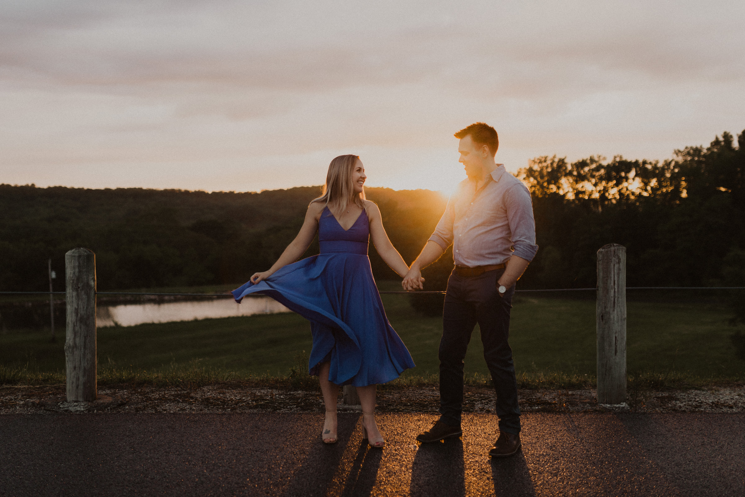 alyssa barletter photography shawnee mission park engagement session photographer sunset-19.jpg