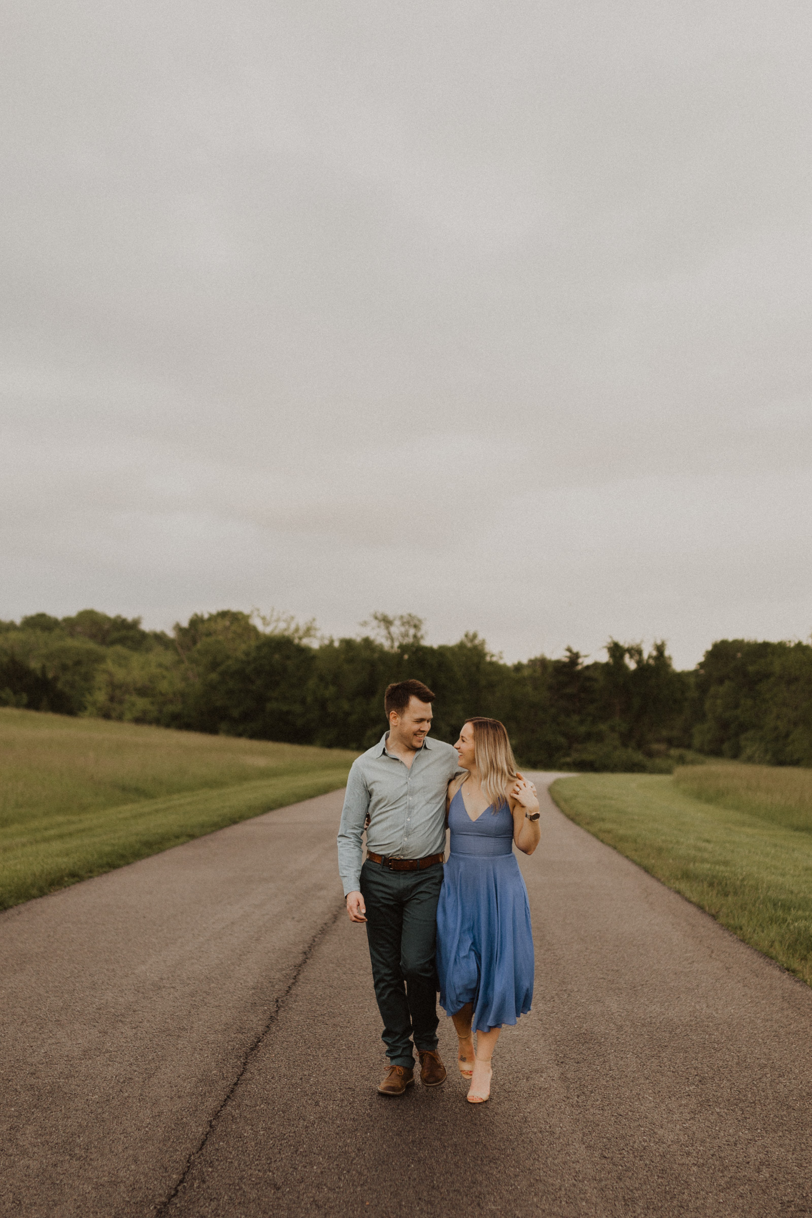 alyssa barletter photography shawnee mission park engagement session photographer sunset-24.jpg