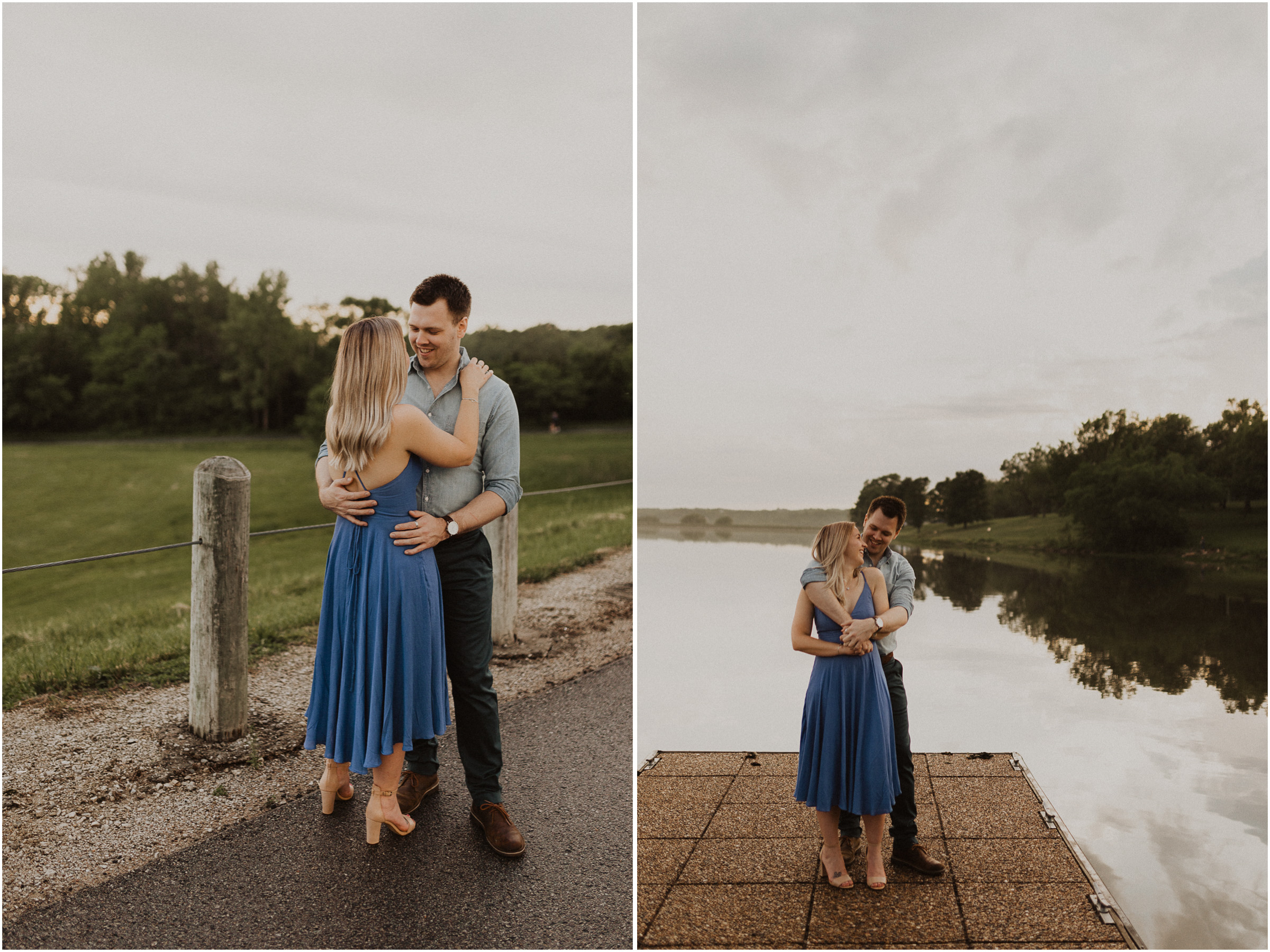 alyssa barletter photography shawnee mission park engagement session photographer sunset-26.jpg