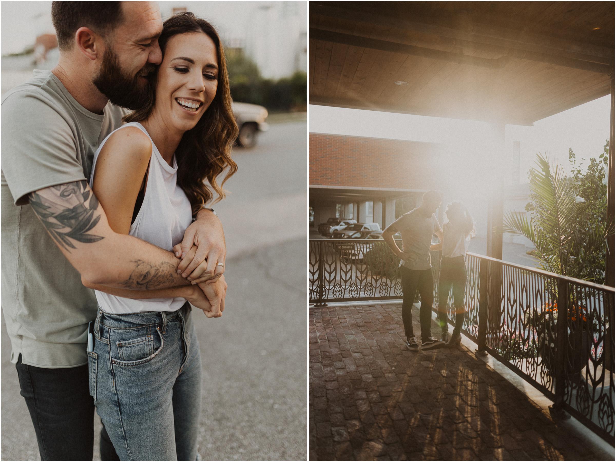 alyssa barletter photography downtown kansas city photos with couple and aussies austrailian shepards-7.jpg