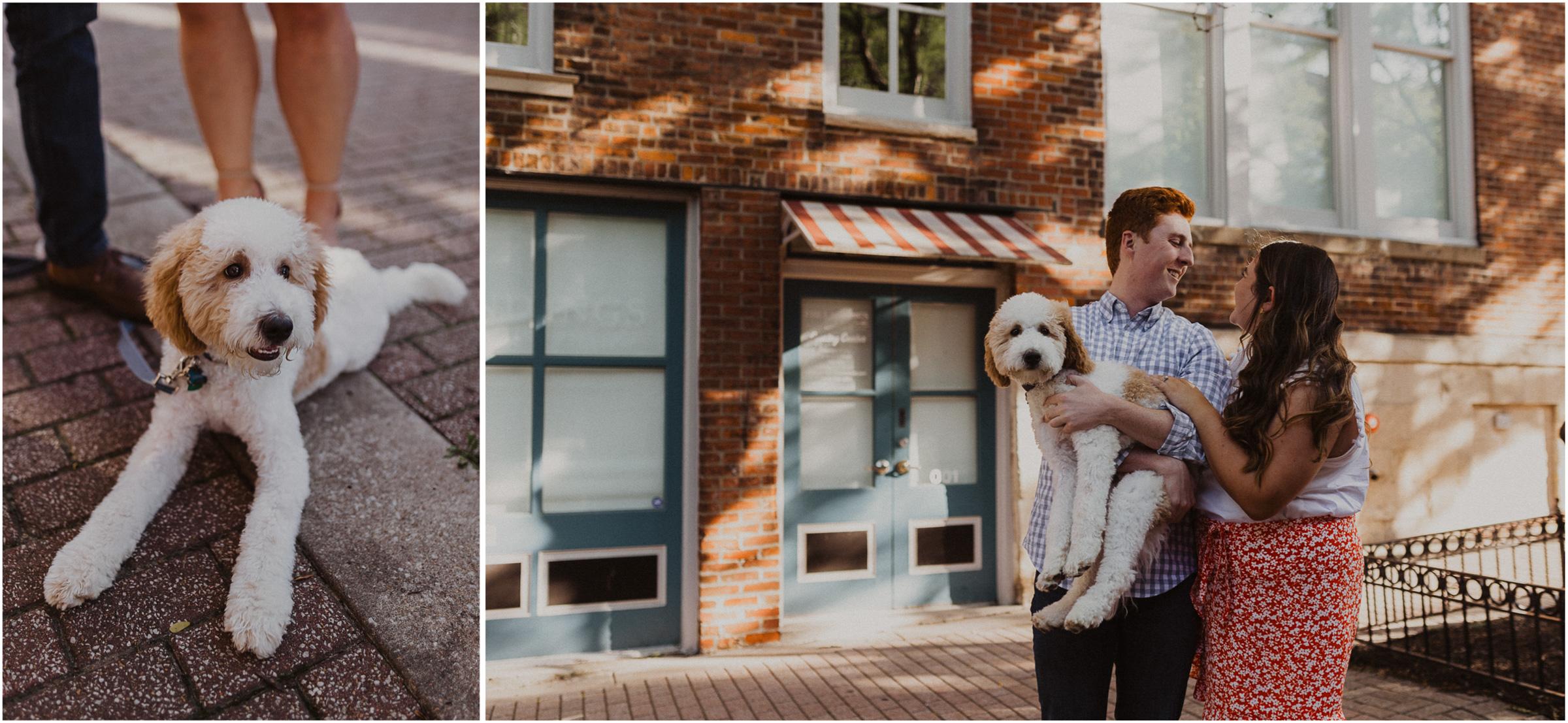 alyssa barletter photography kansas city missouri river market engagement session summer with puppy-6.jpg
