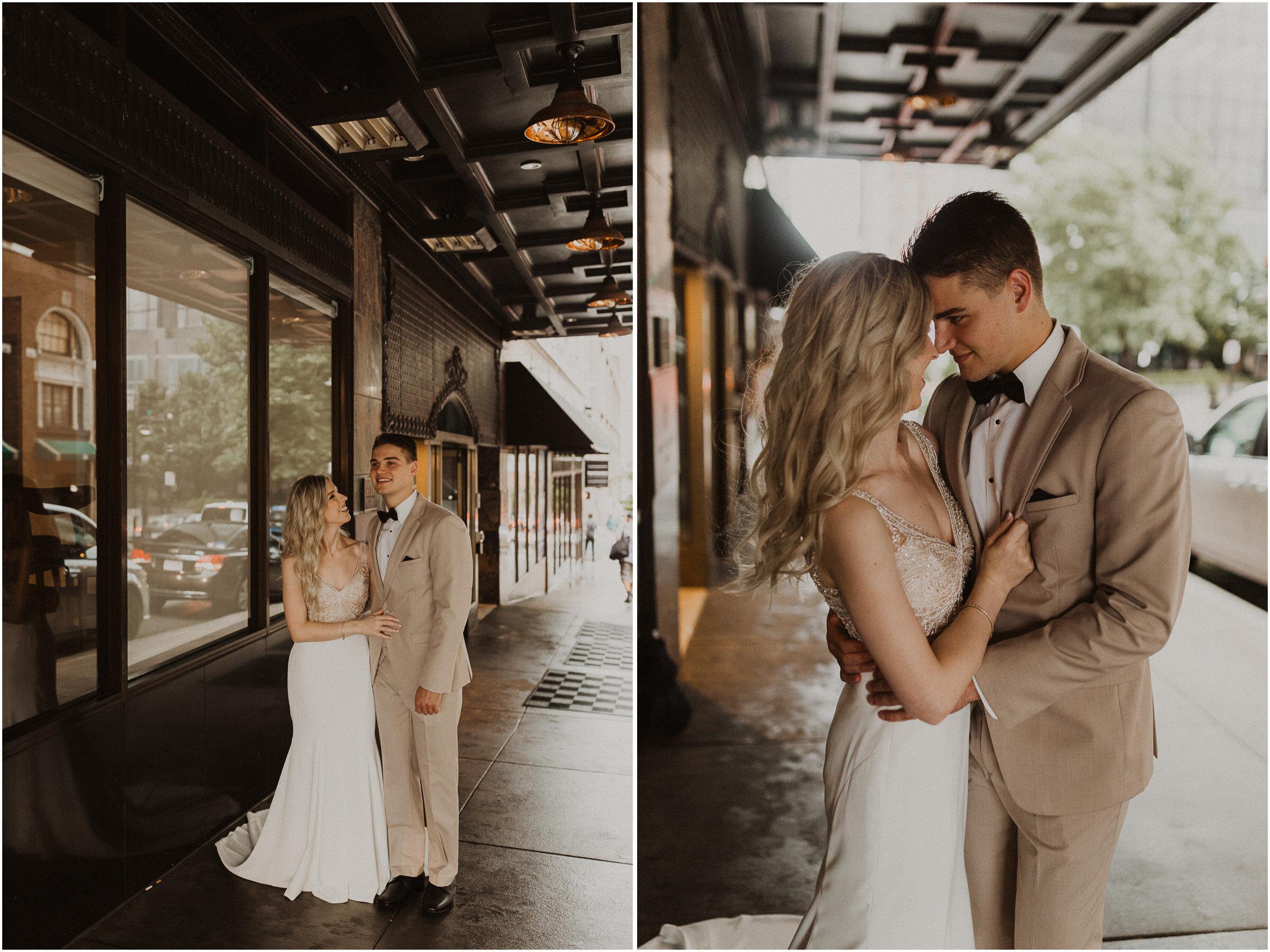 alyssa barletter photography downtown kansas city wedding boulevard brewery reception rainy day wedding-23.jpg