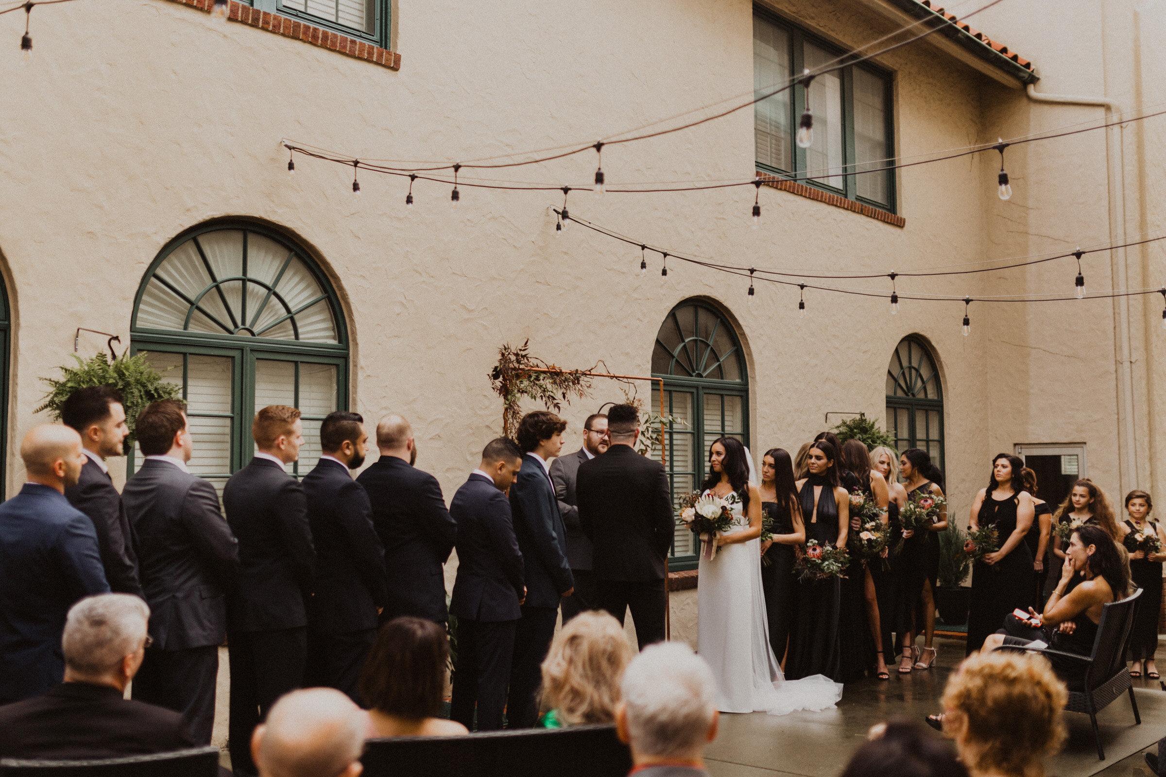 alyssa barletter photography la villa kansas city patio wedding sarah seven wedding dress-12.jpg