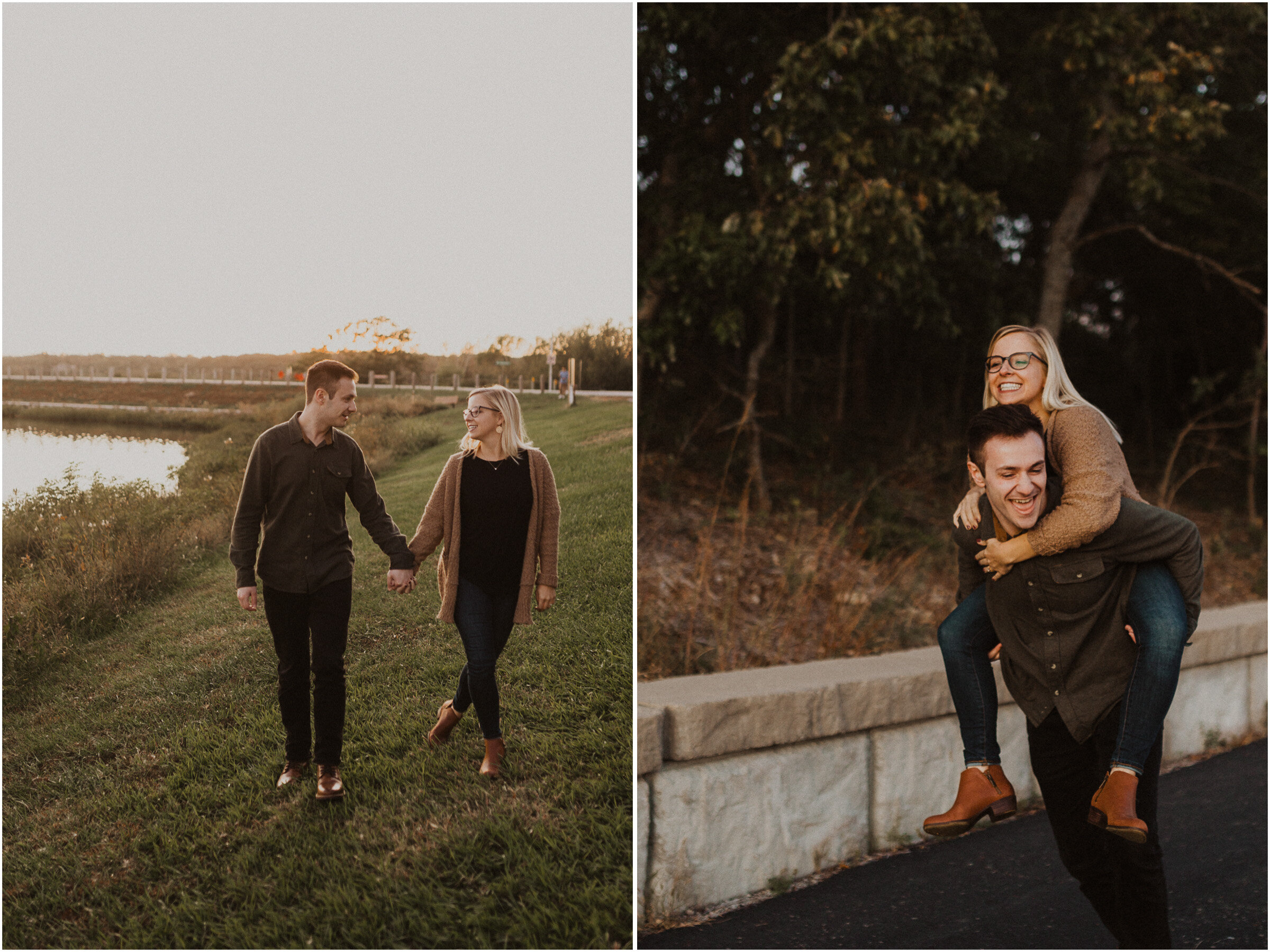 alyssa barletter photography shawnee mission park engagement session photographer fall sunset-2.jpg