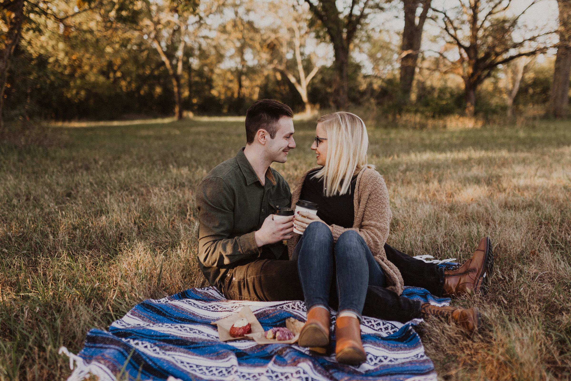 alyssa barletter photography shawnee mission park engagement session photographer fall sunset-1.jpg