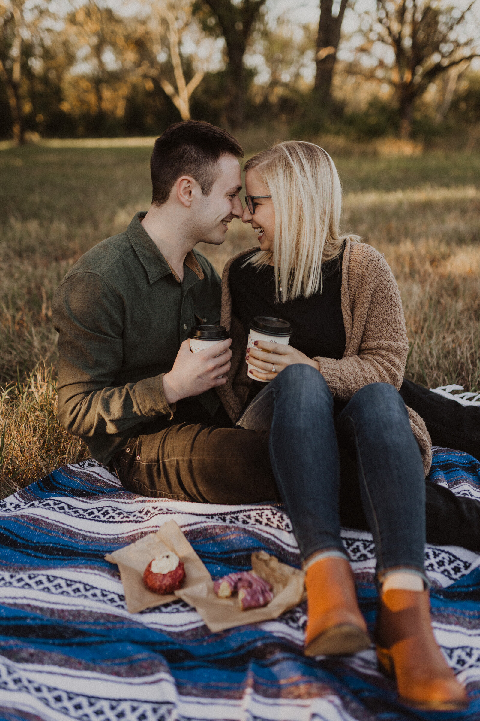 alyssa barletter photography shawnee mission park engagement session photographer fall sunset-7.jpg