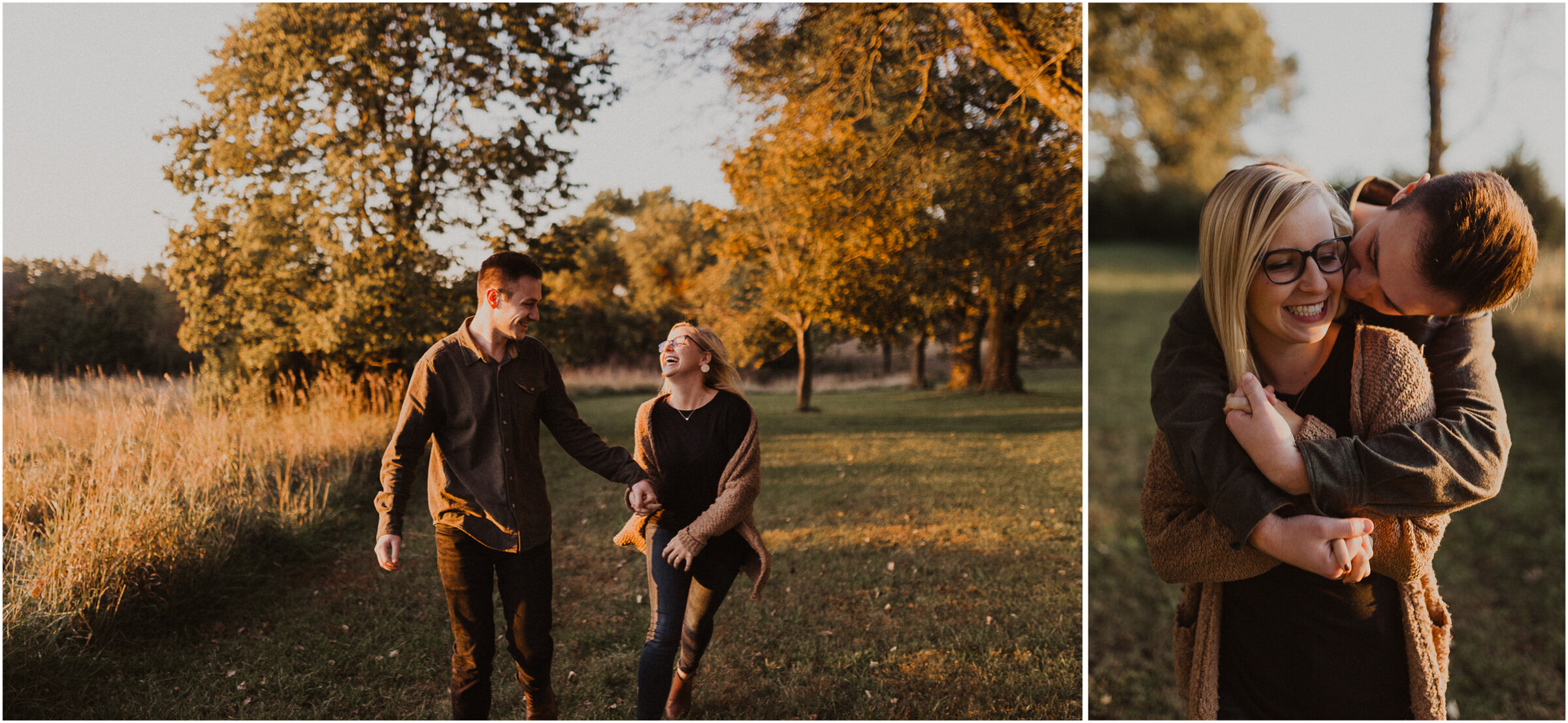 alyssa barletter photography shawnee mission park engagement session photographer fall sunset-8.jpg