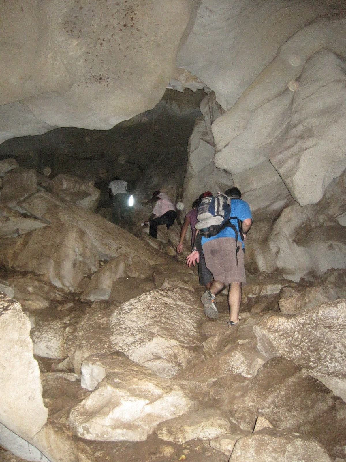"""We went caving at the Amboni caves (home to more bats than I would have liked!)"" - Christine"