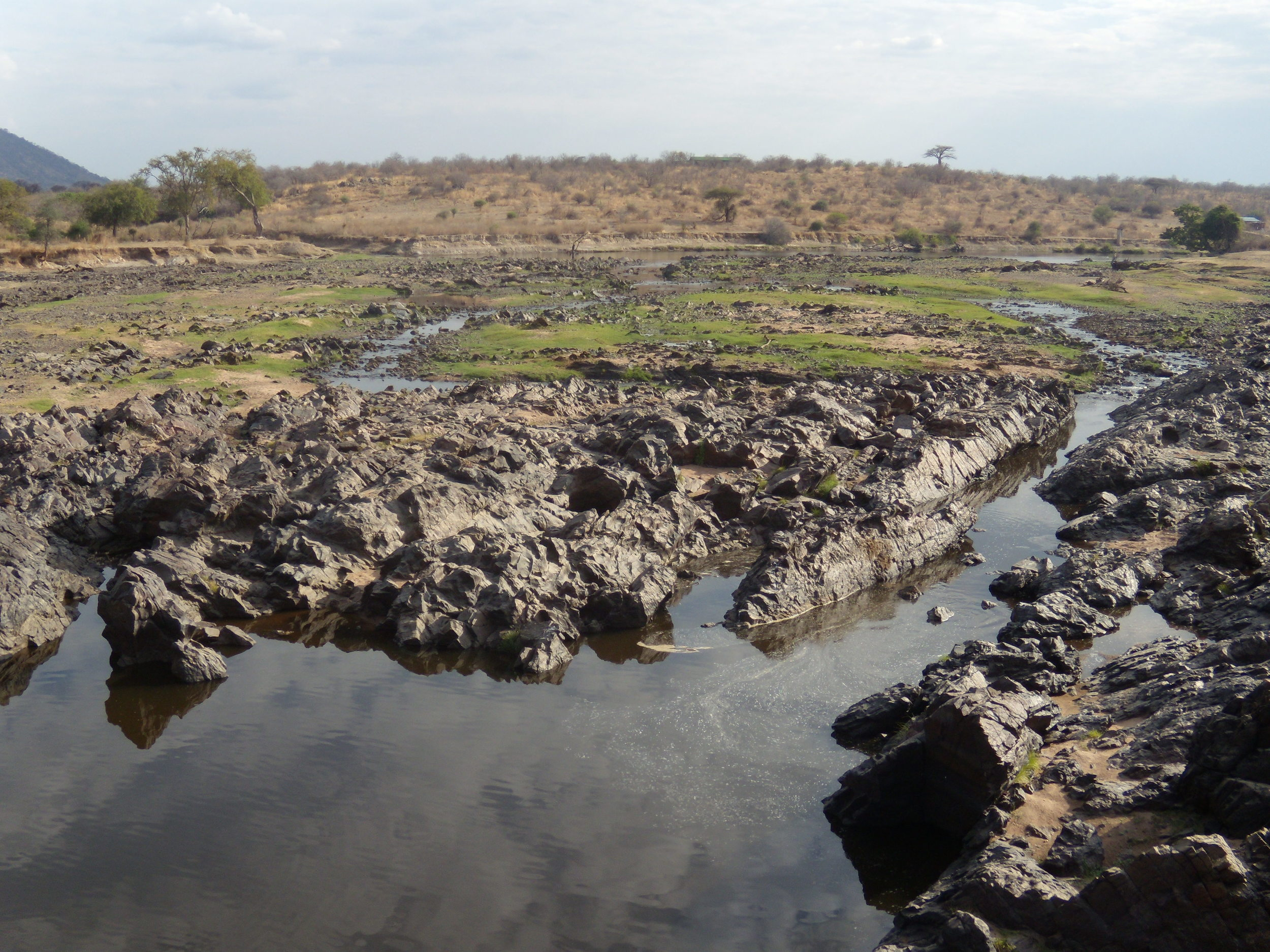Ruaha River drying