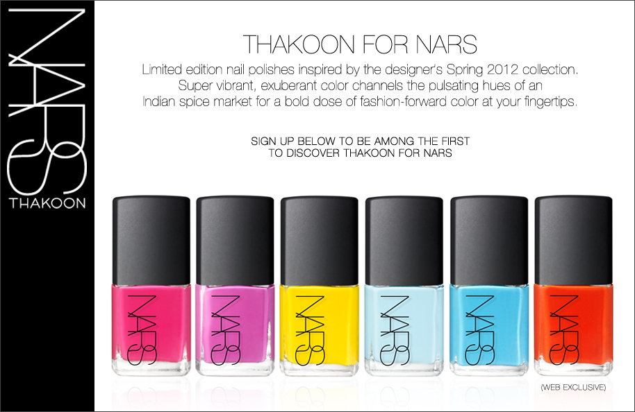 Thankoon for Nars