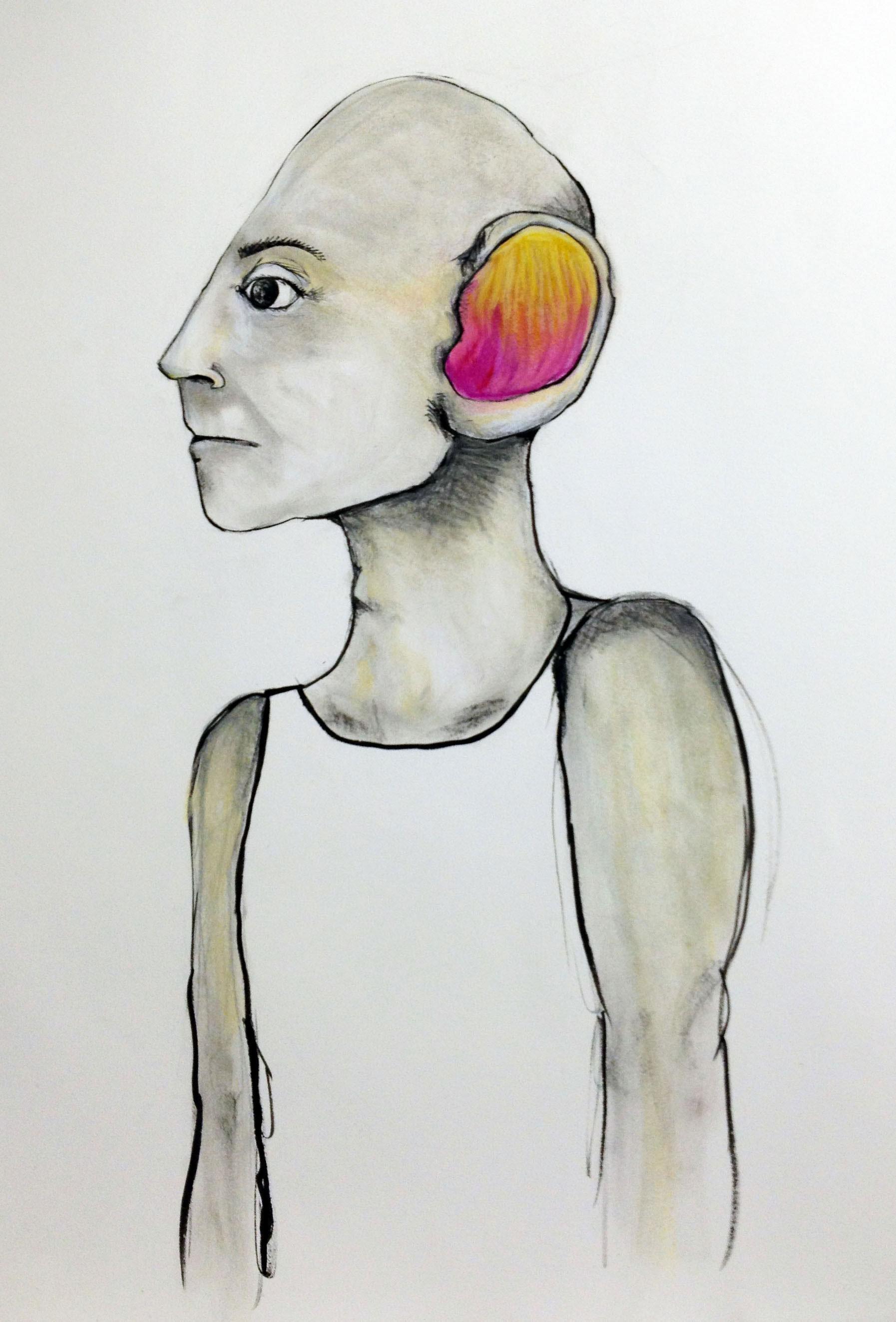 Creature Portrait (Mango Man)